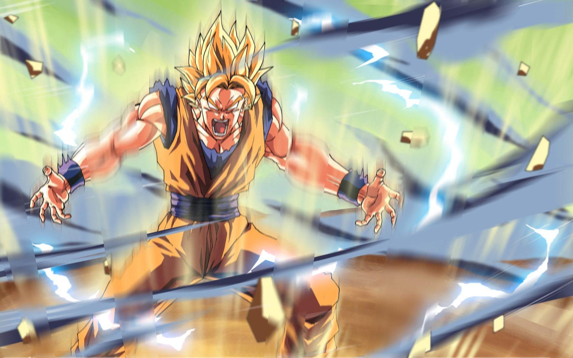 Dragon Ball Z Goku Wallpapers High Resolution : Anime Wallpaper Dragonball  Z Wallpaper Wallpapers)
