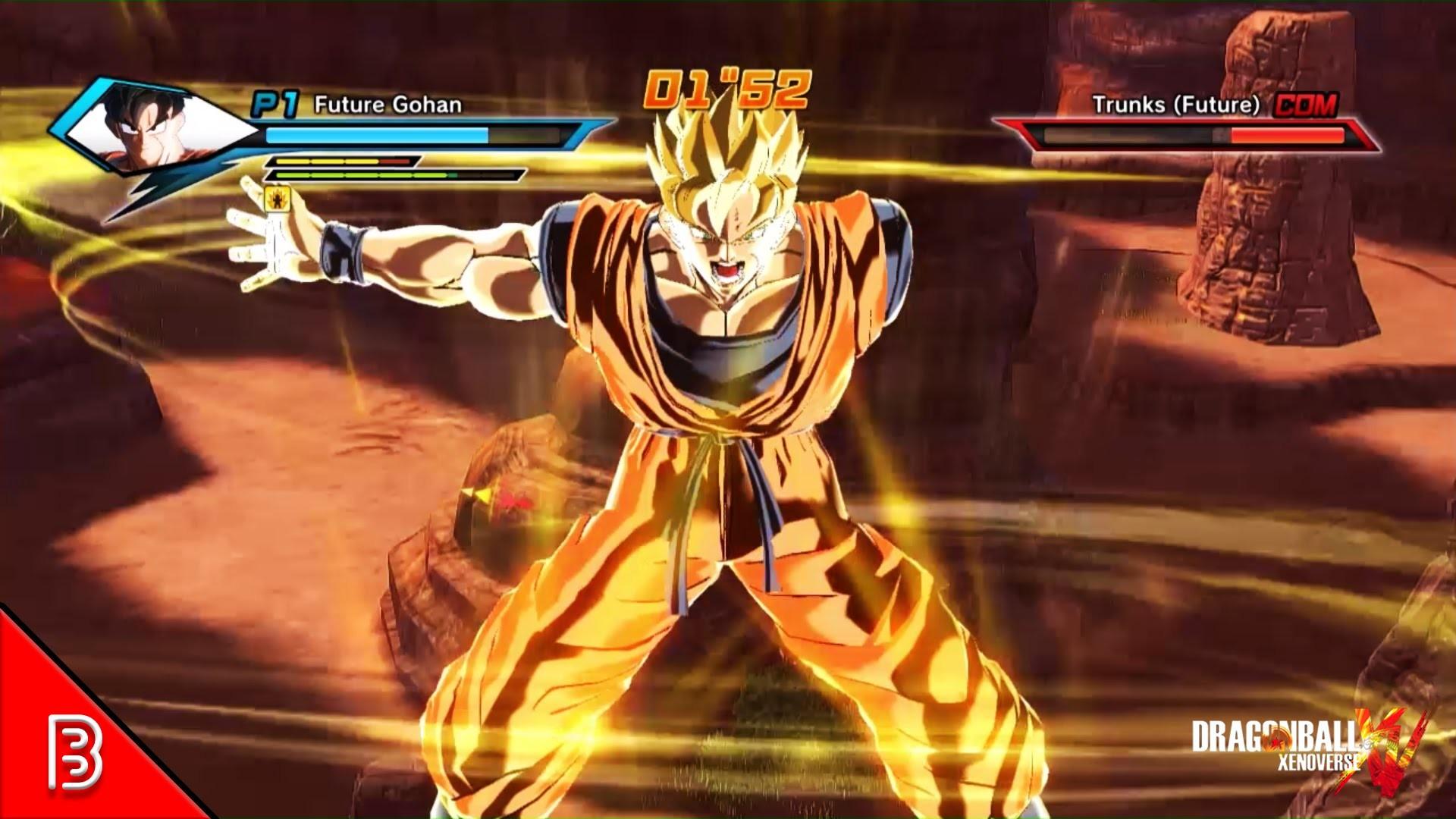 Future Gohan SSJ Animation from Xenoverse 2   Dragon Ball Xenoverse MODS –  YouTube