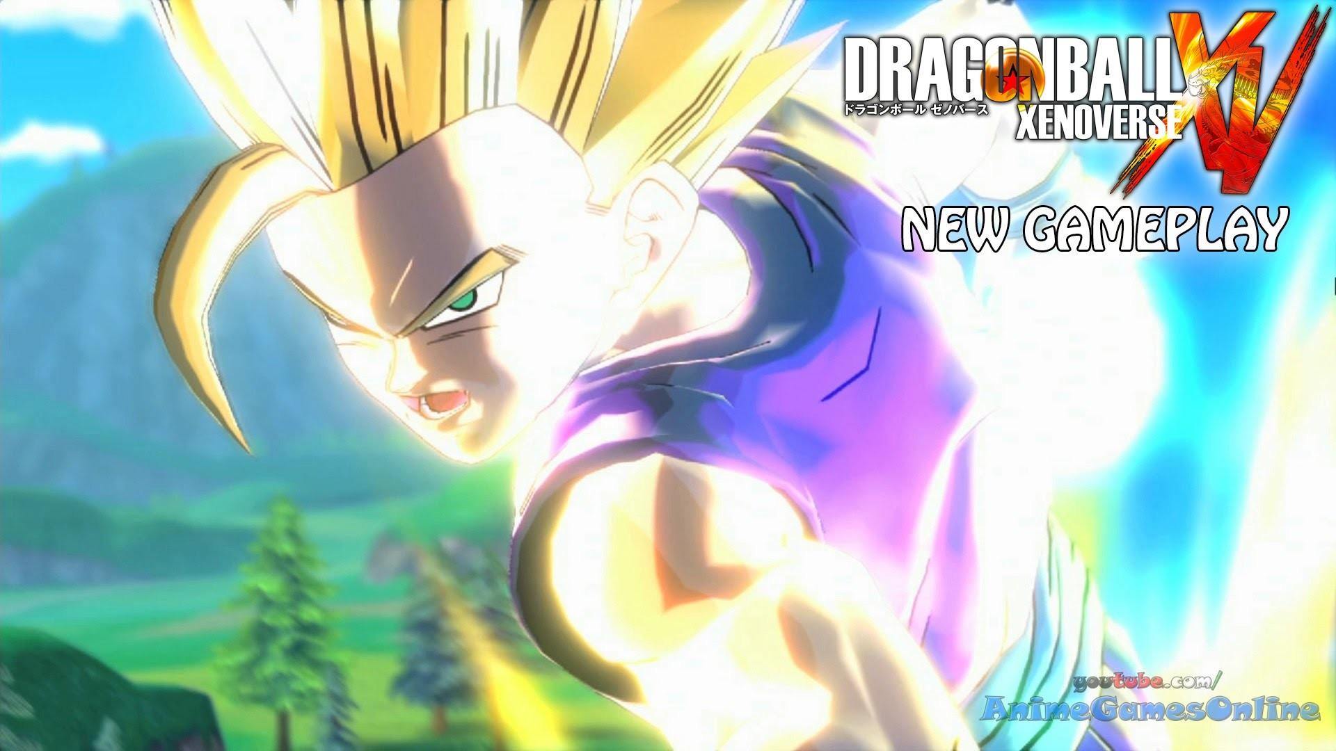 Dragon Ball Xenoverse Gameplay HD 1080p – Ultimate Gohan / Super Vegito vs  Buu, SS2 Gohan vs Cell – YouTube