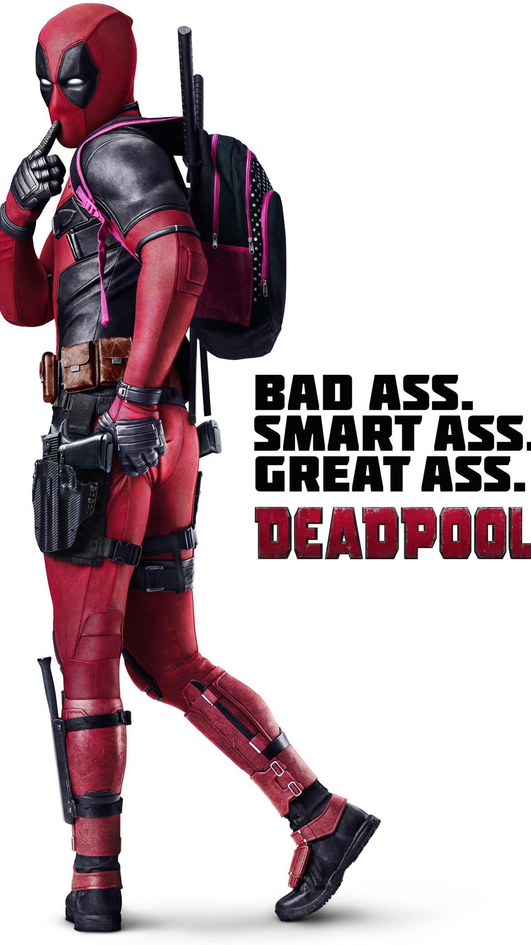 Deadpool The Movie iPhone 6 Plus Wallpaper (1080×1920)