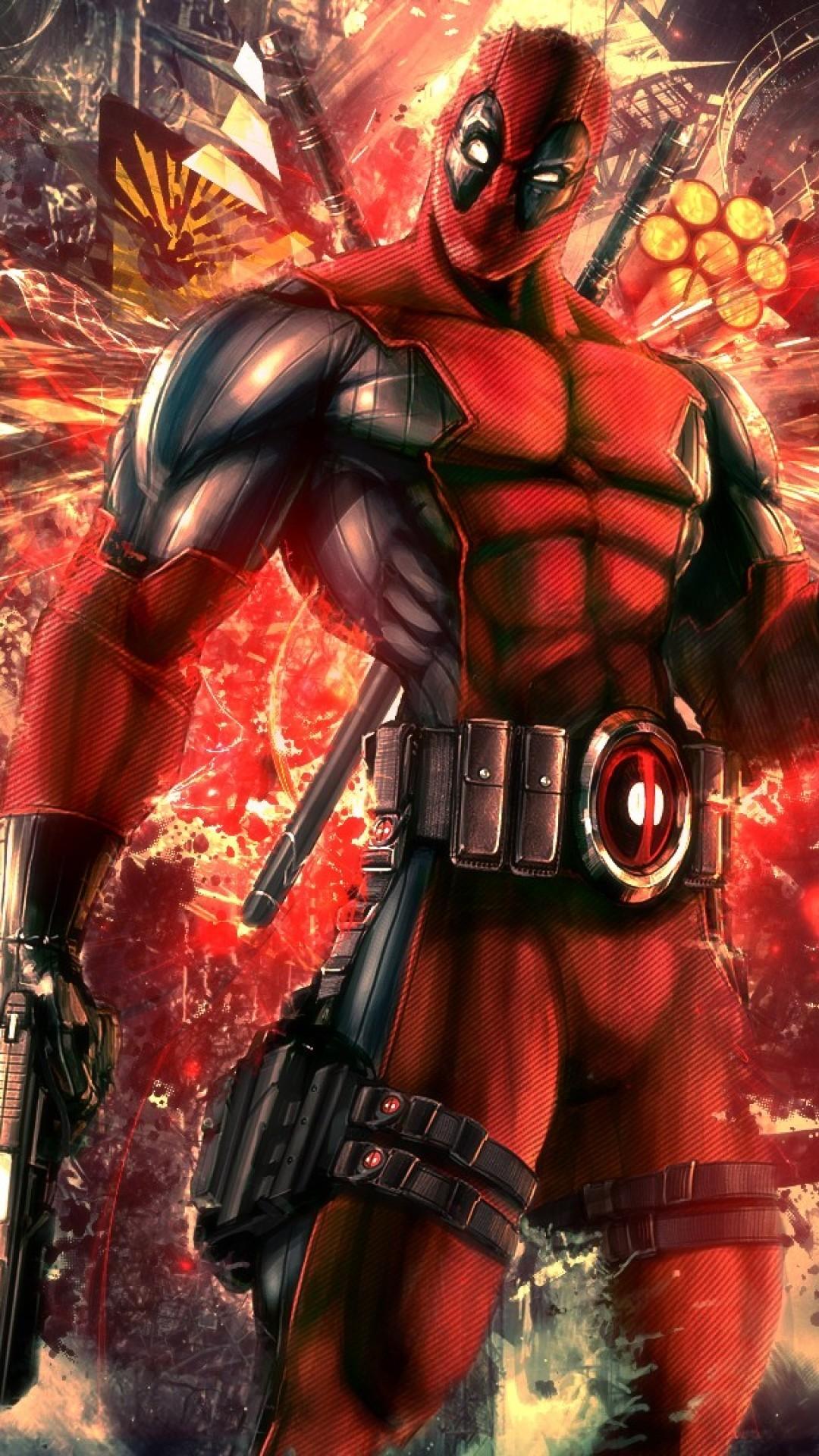 Deadpool Iphone Image HD.