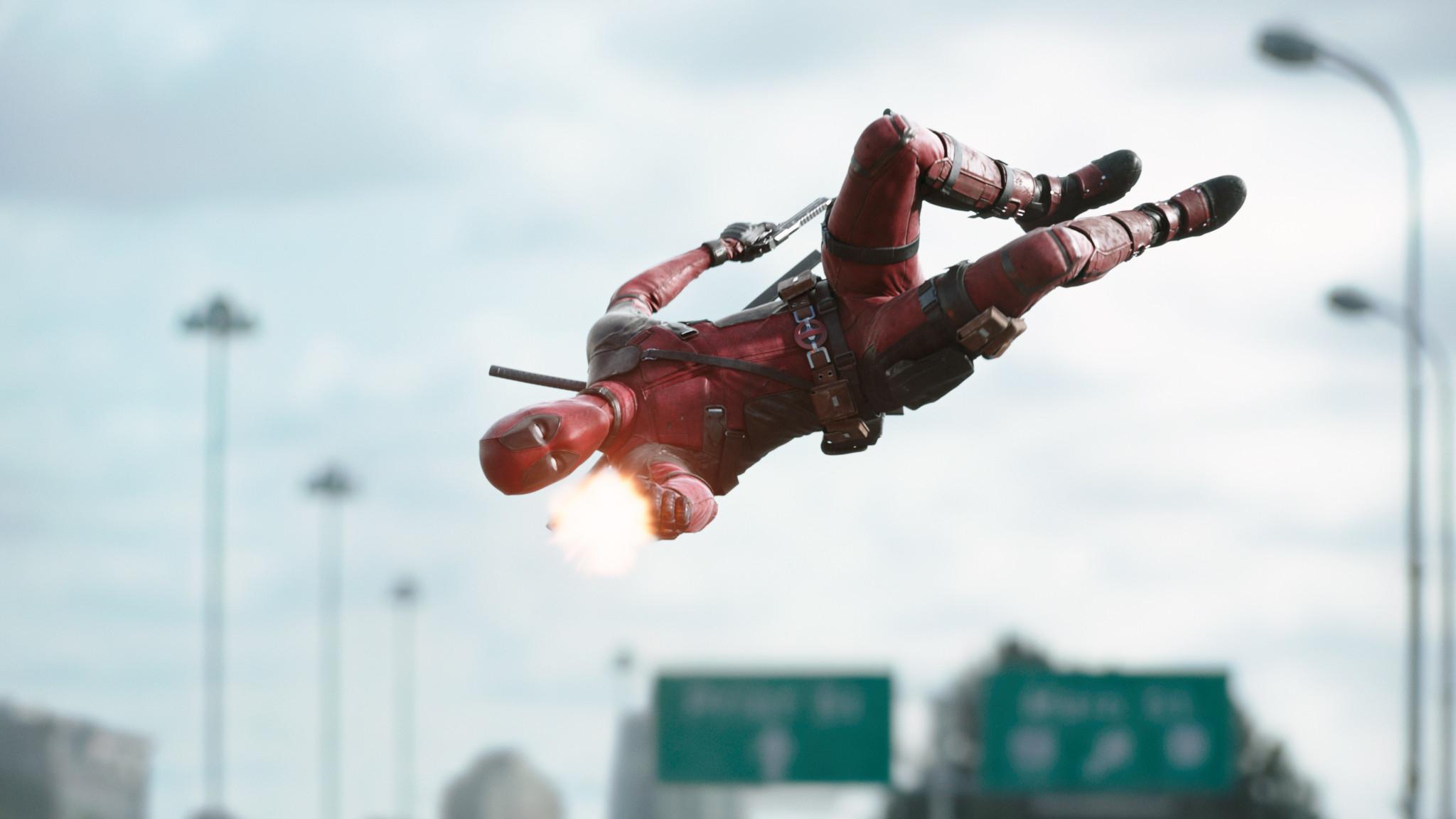 Deadpool_movie_gunfire. Deadpool_movie_teddy