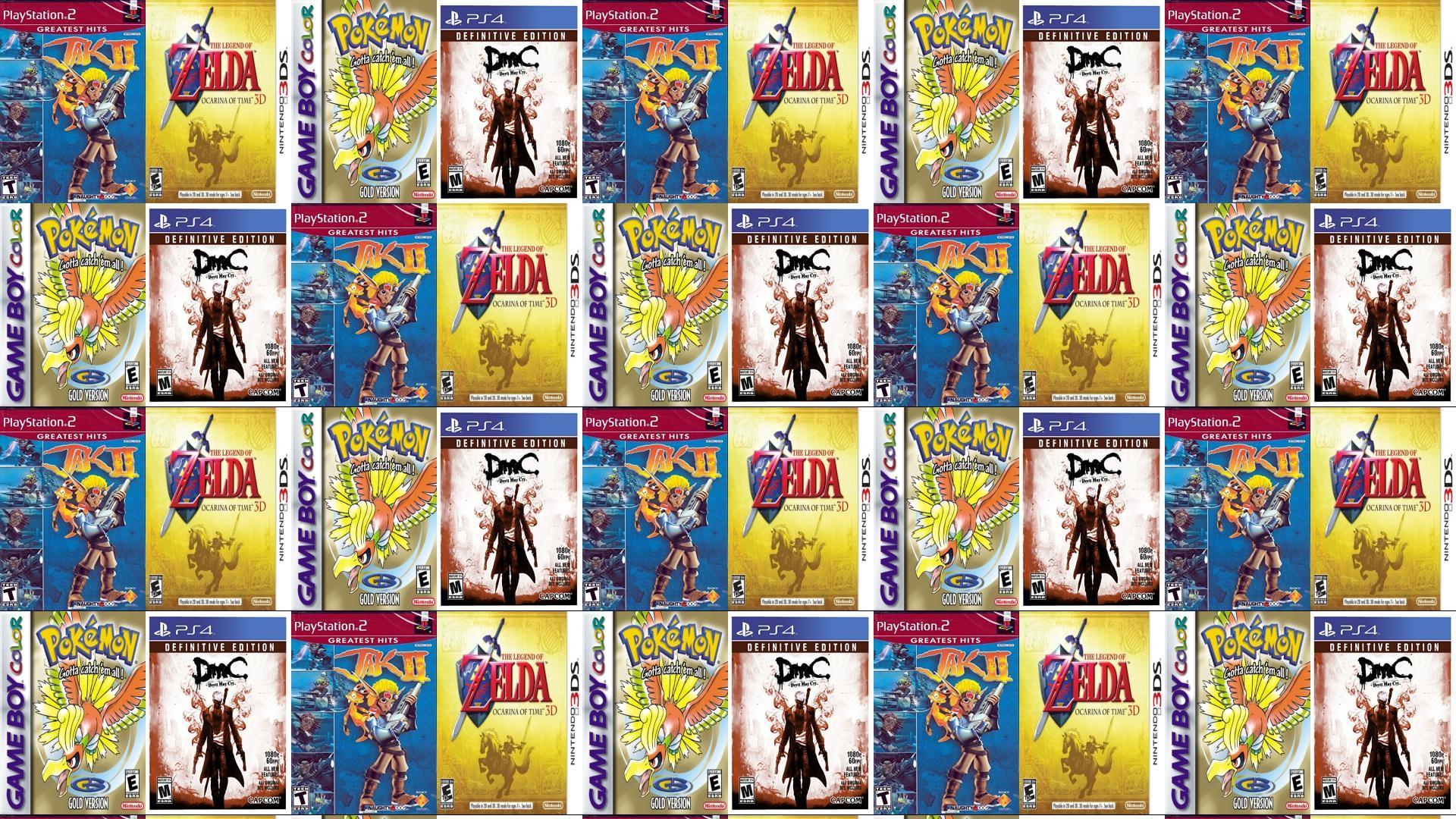 Jak 2 Ocarina Time Pokemon Gold DMC Devil Wallpaper