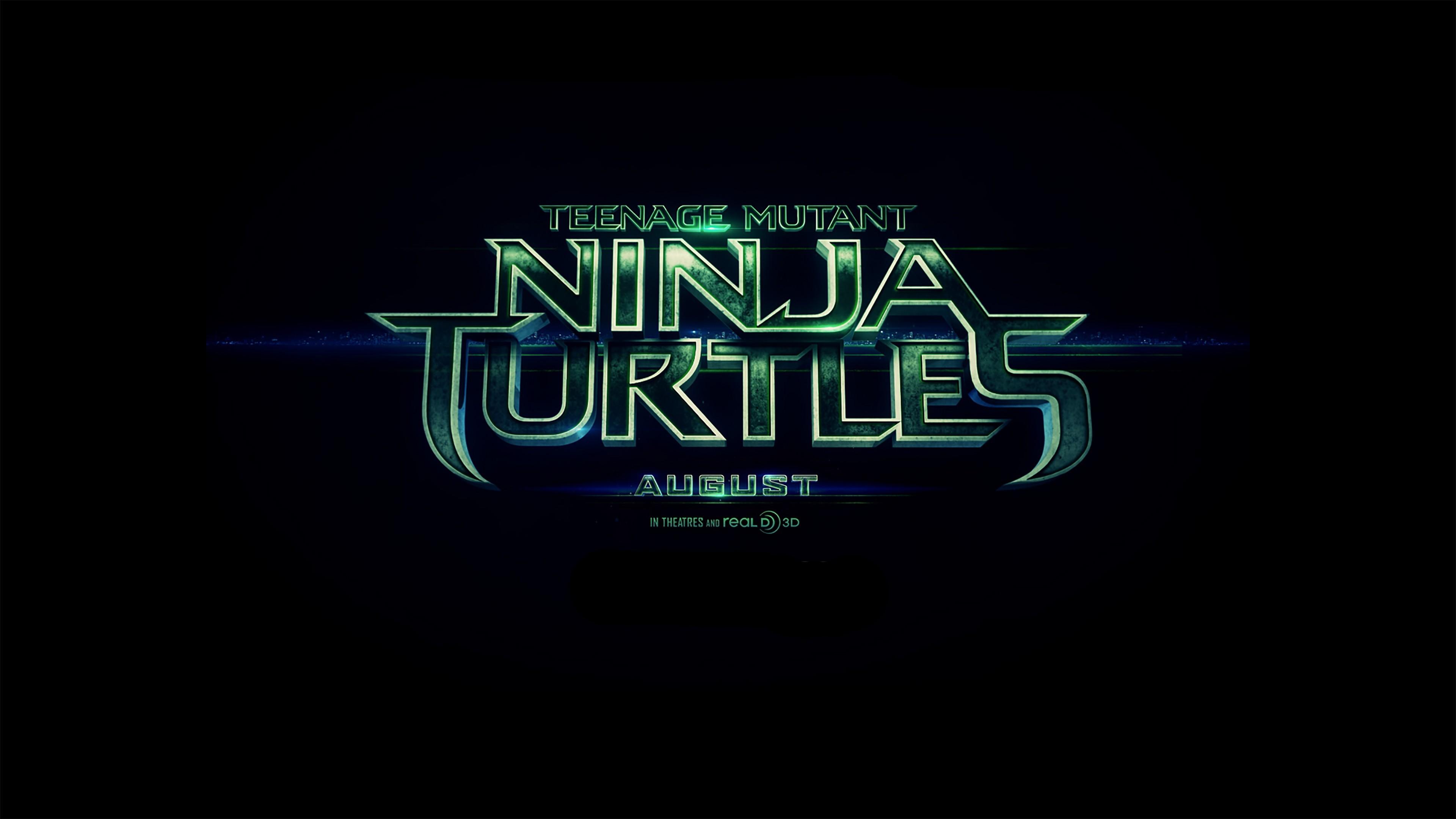 4K HD Wallpaper: Teenage Mutant Ninja Turtles 2014