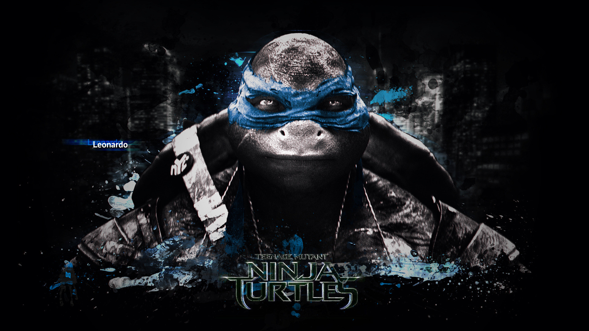 Leonardo – Teenage Mutant Ninja Turtles HD Wallpaper 1920×1080