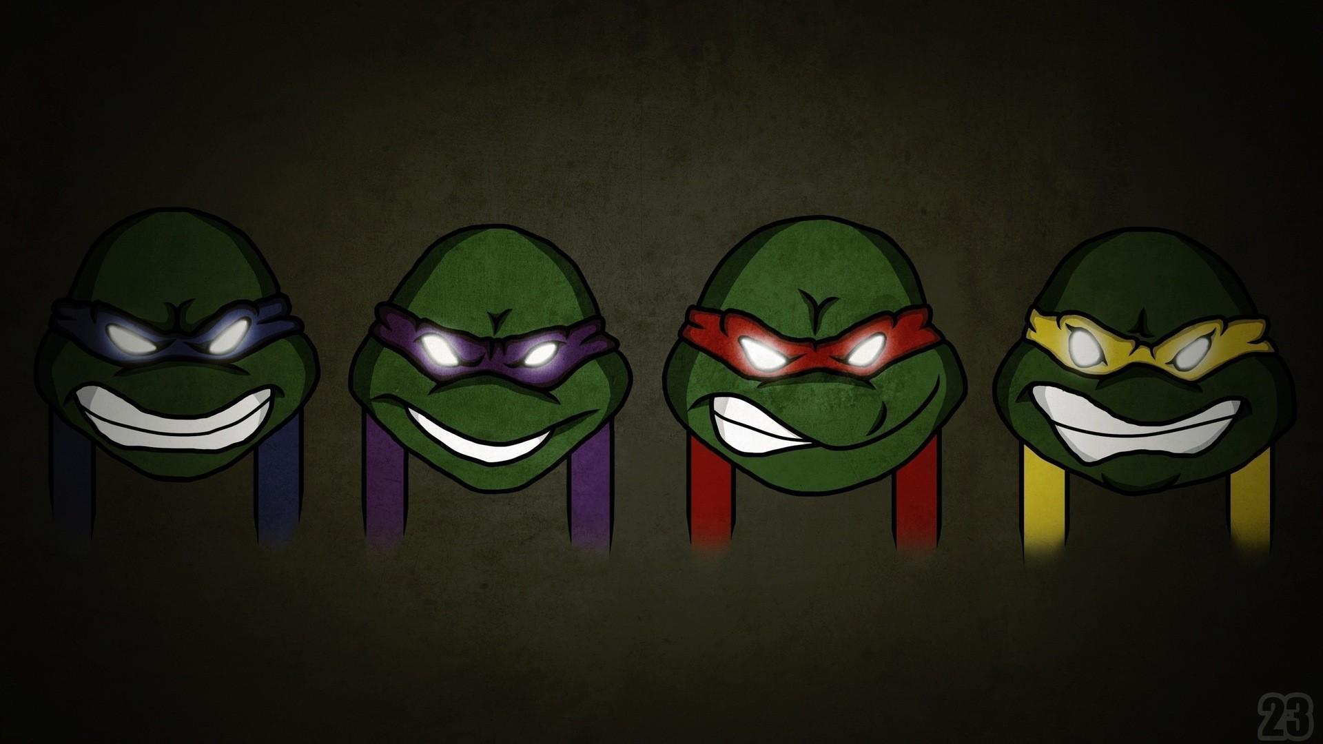 Cartoon Cute Ninja Turtles
