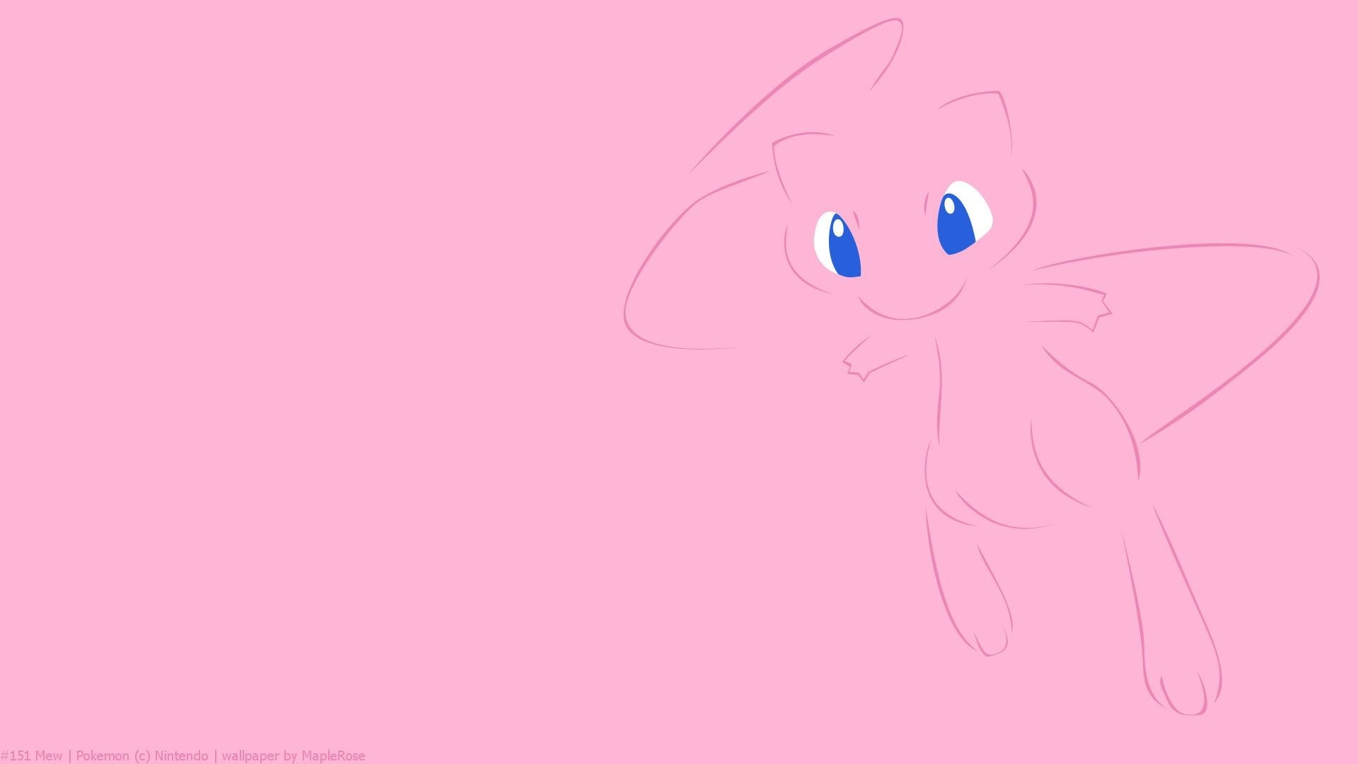 mew and mewtwo wallpaper