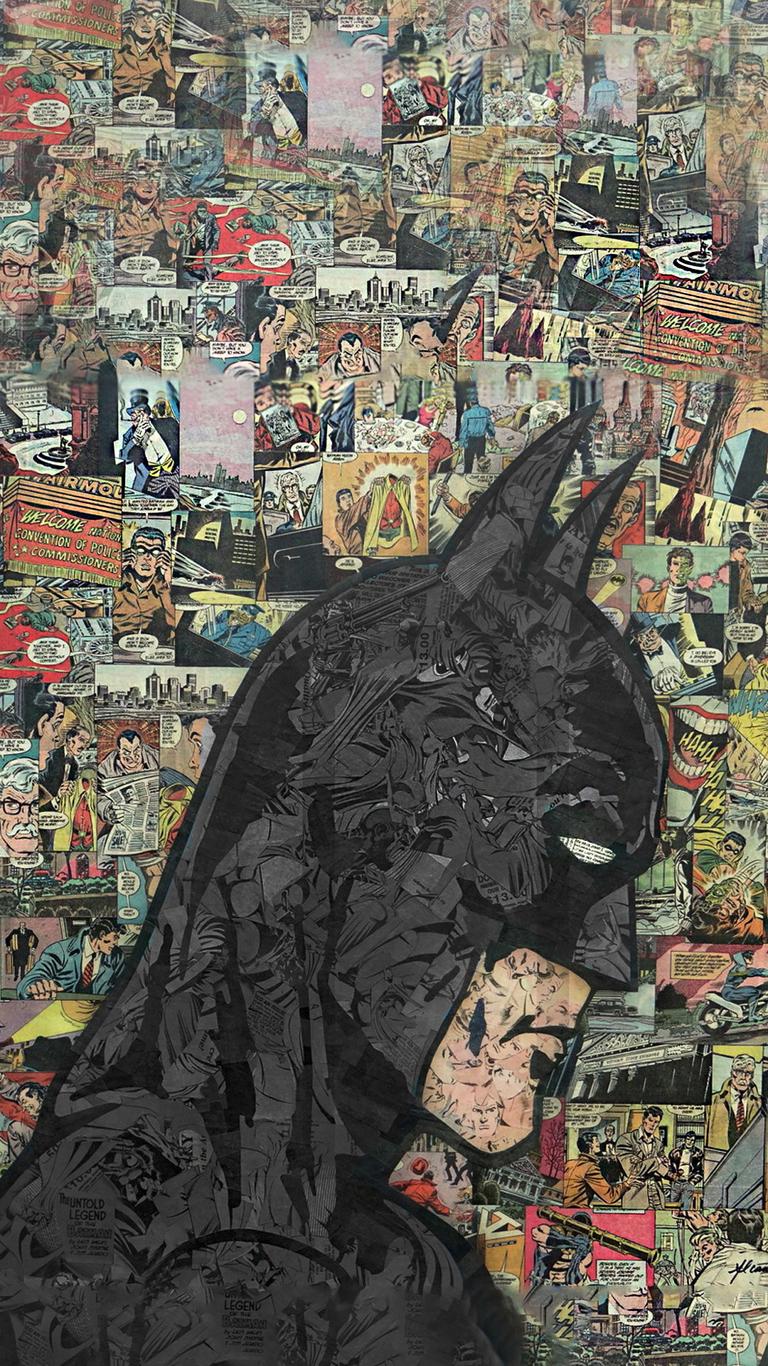 Phone wallpaper from Zedge – Batman comic