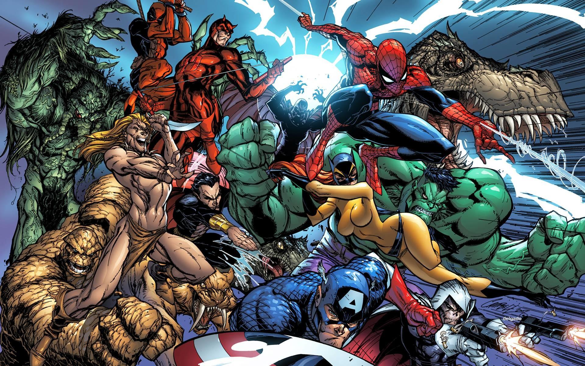 Marvel Comics HD Wallpaper, Superb HDQ Marvel Comics HD 1920×1200 Marvel HD  Wallpapers