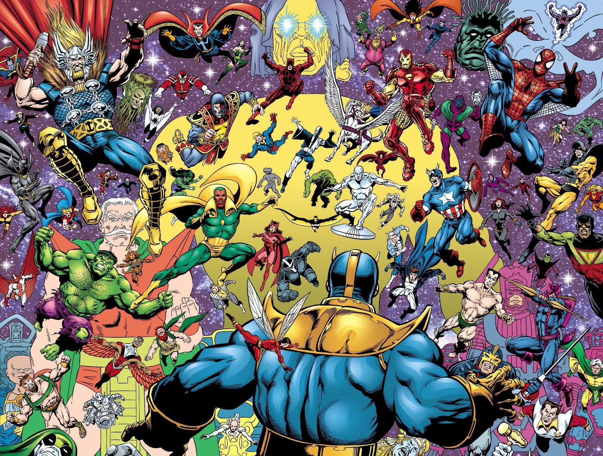 Explore Comic Artist, Marvel Universe, and more!
