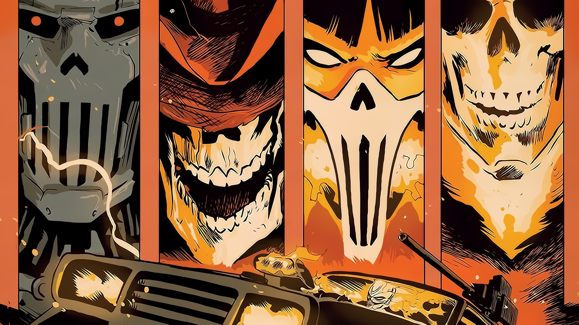 comic Books, Marvel Comics, Ghost Rider Wallpapers HD / Desktop and Mobile  Backgrounds