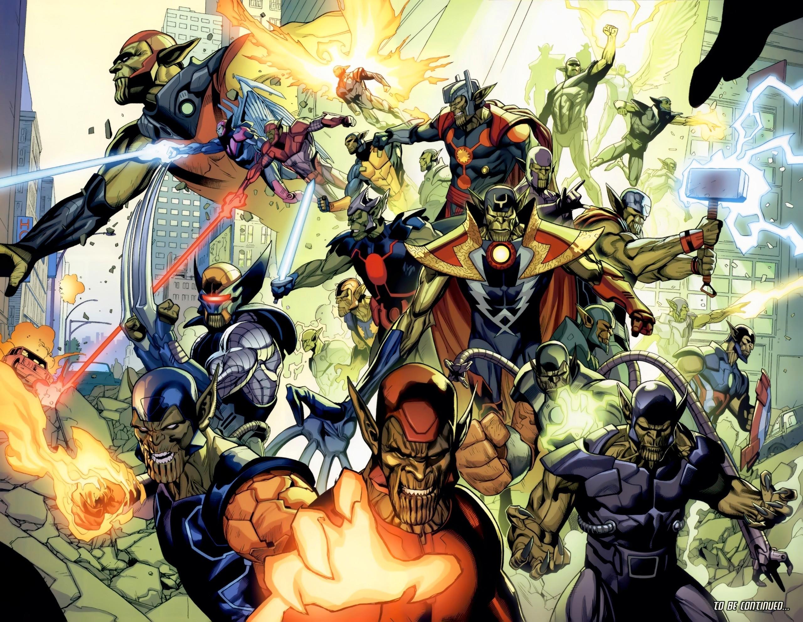 Comics – Marvel Comics Skrull (Comics) Wallpaper