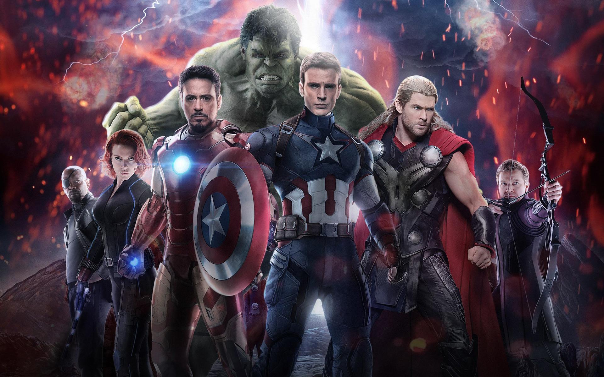 Avengers Age Of Ultron Wallpapers Desktop