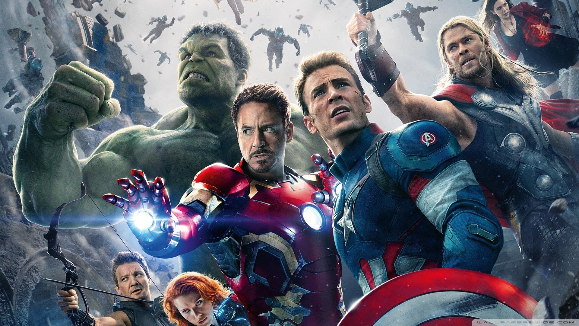 Marvels Avengers Age of Ultron HD Wide Wallpaper for Widescreen