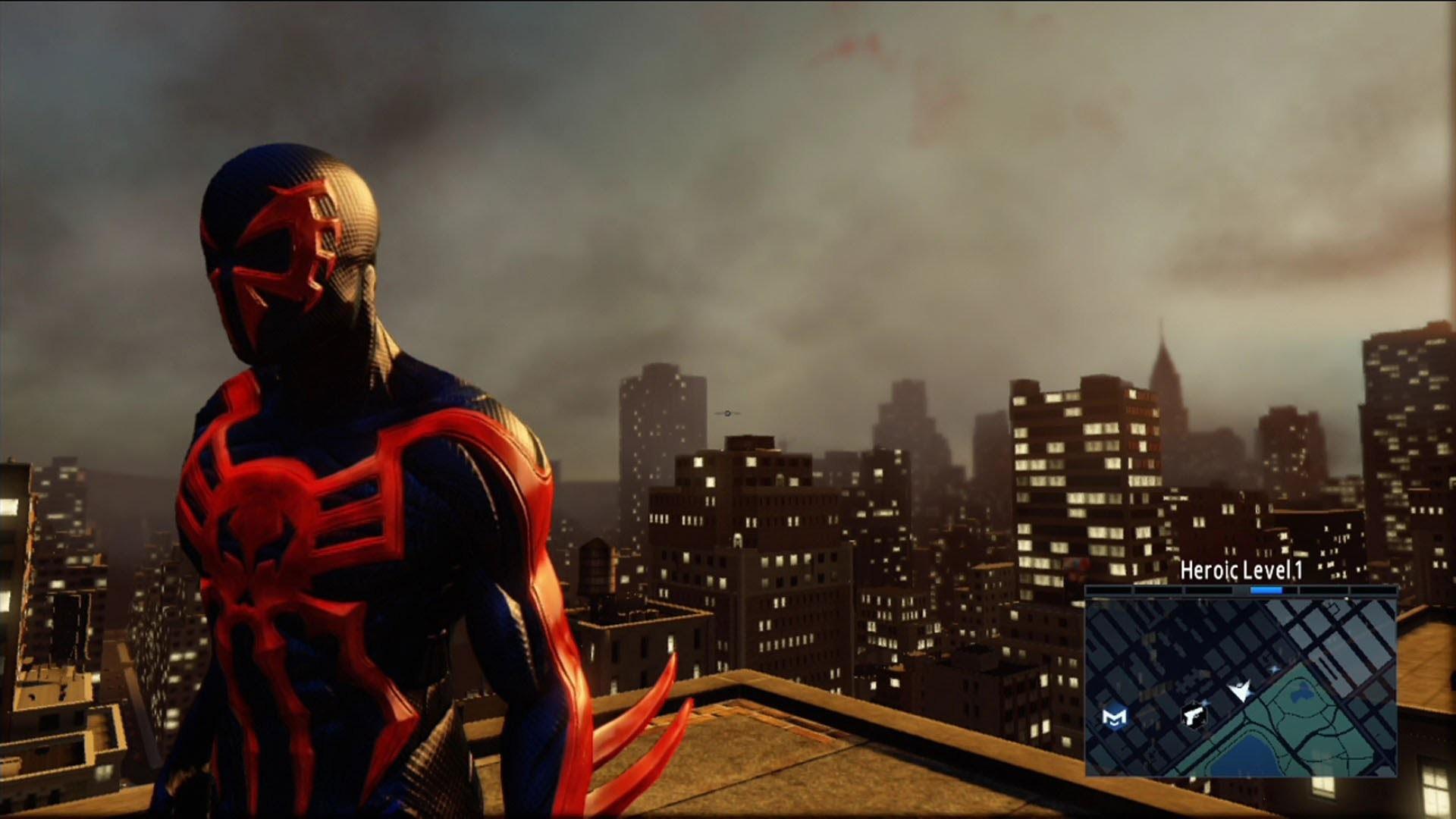 The Amazing Spider-Man 2 – Spider-Man 2099 Costume Free Roam Gameplay [HD]  – YouTube