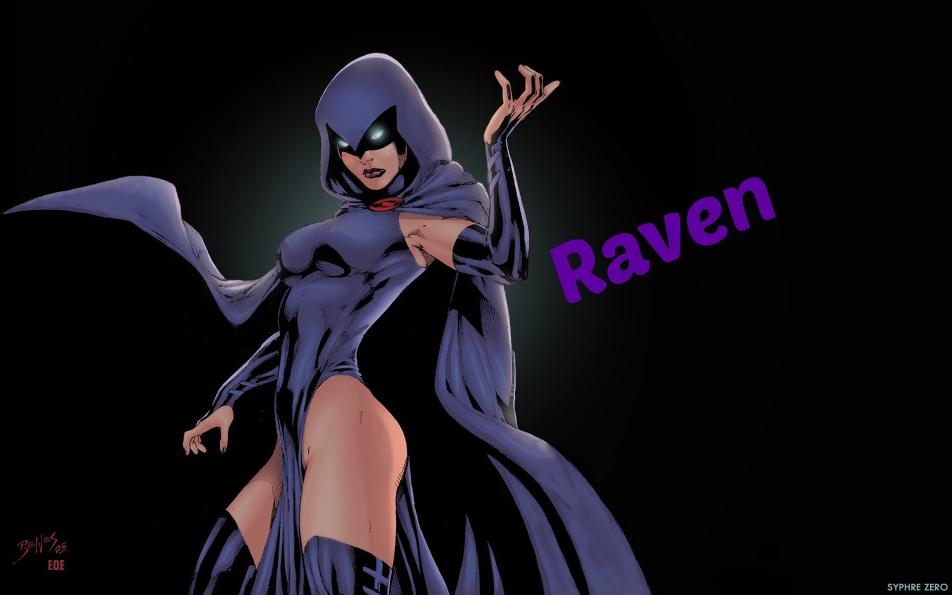 DCUO: How To Make Raven!!!