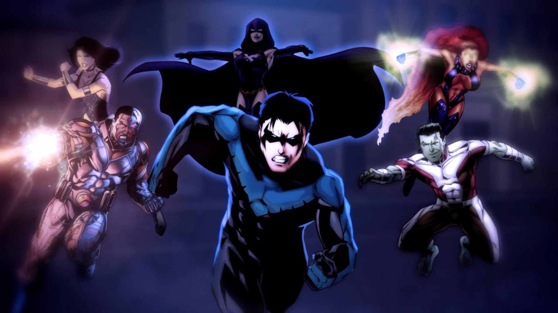 HD Raven Teen Titans Image.
