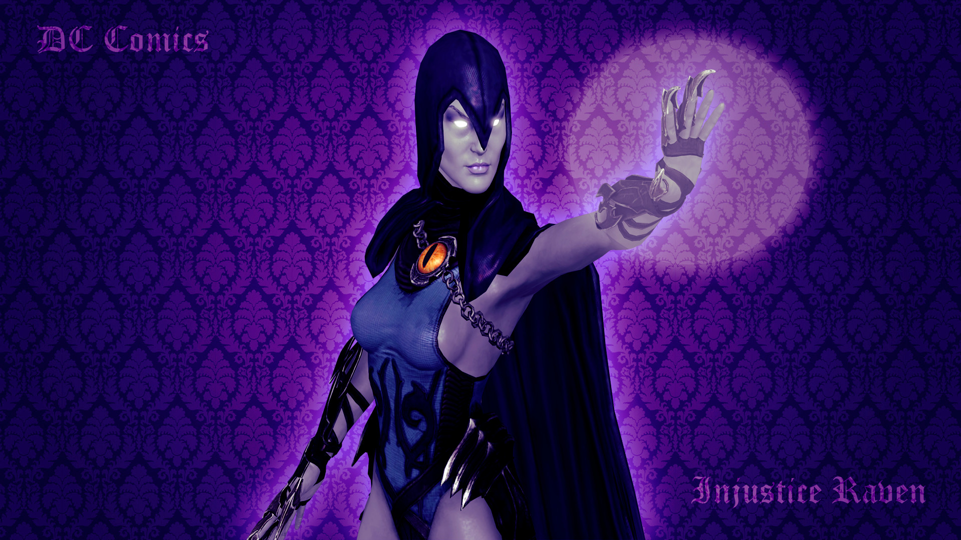 … Raven from Teen Titans/DC Comics/Injustice by sirensofwar