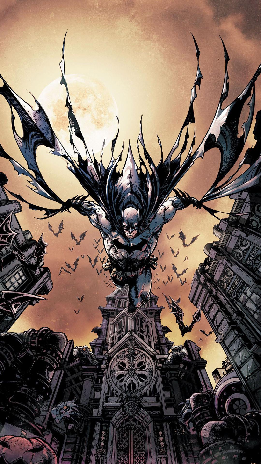 Batman Comic mobile wallpaper