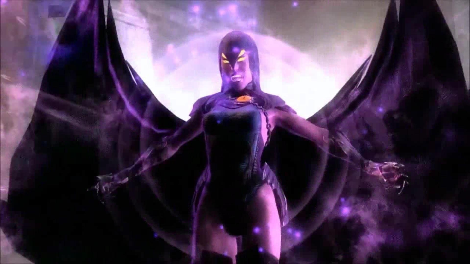 Injustice: Gods Among Us   Raven Super Move [HD]