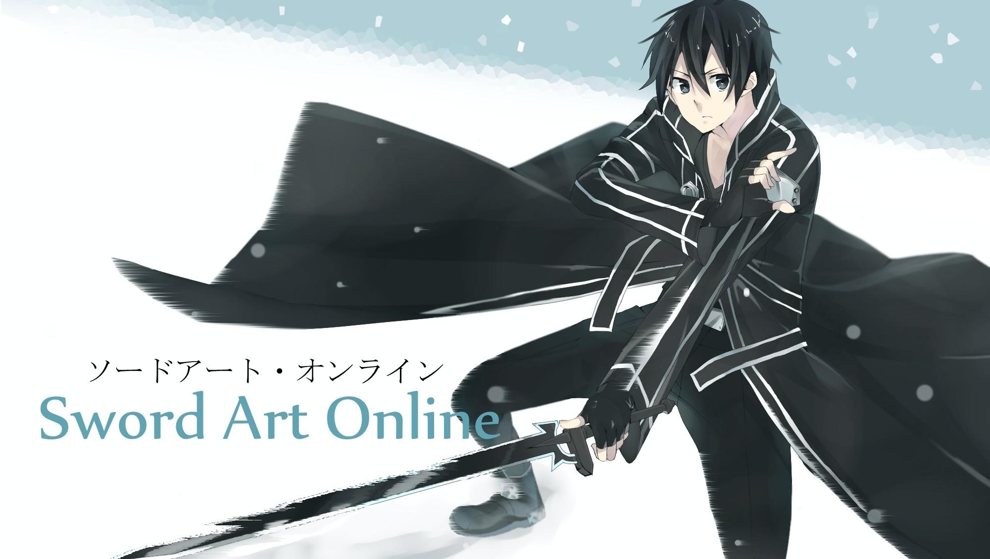234 Sword Art Online Wallpaper Kirito