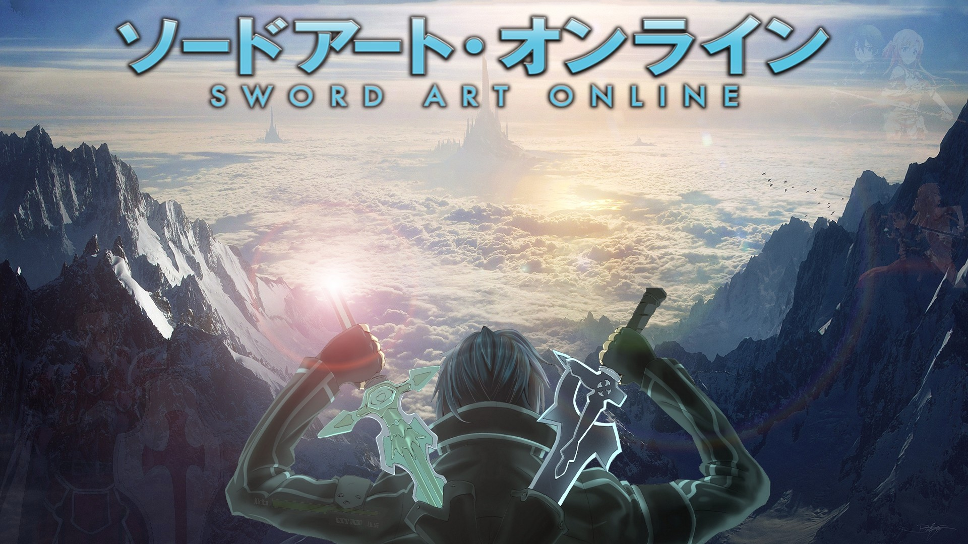 ImageMade This Sword Art Online Wallpaper.