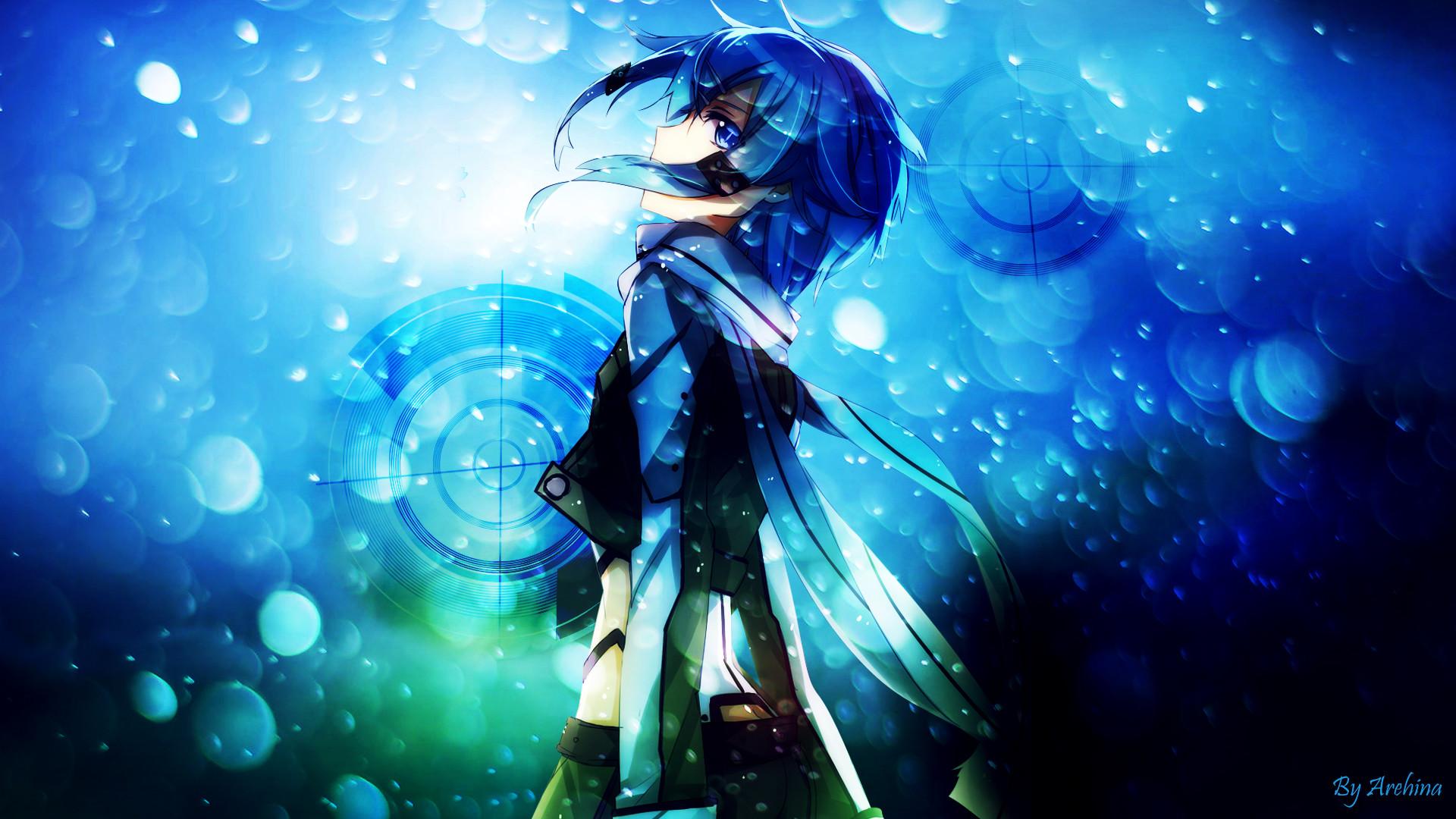 Sword art online 2 (GGO) Sinon Wallpaper by Arehina.deviantart.com on
