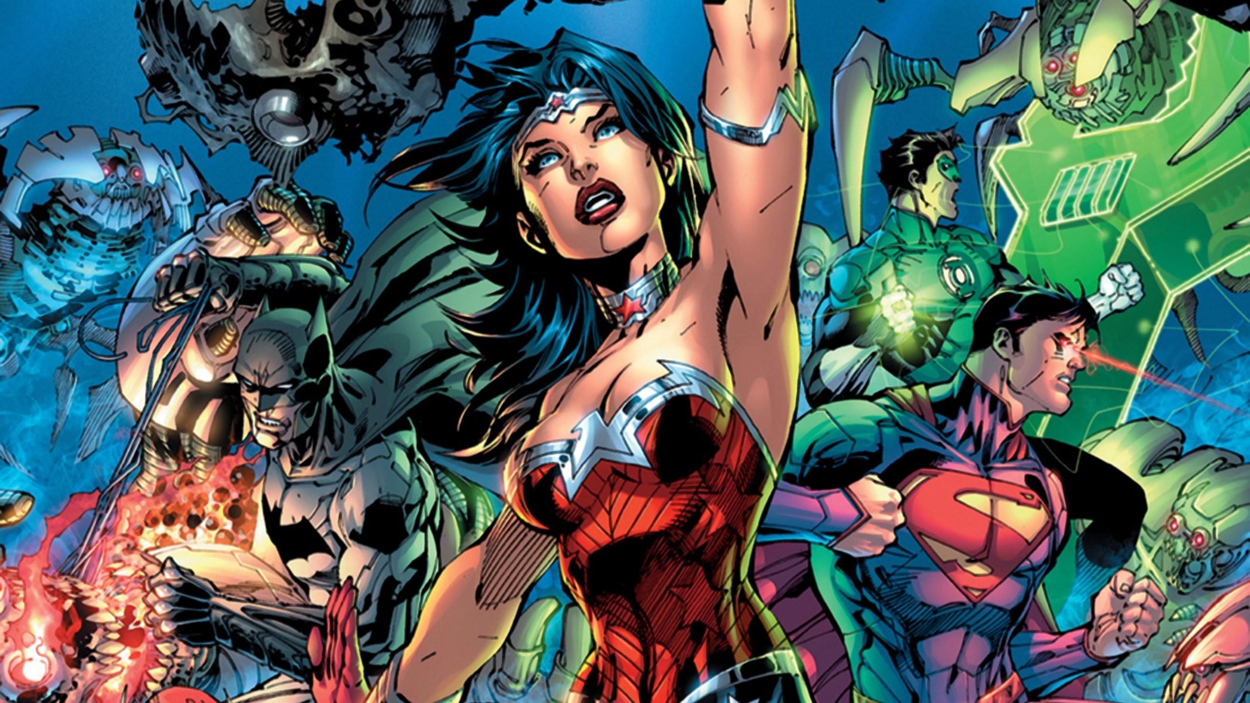 New 52 Trinity Superman Batman Wonder Woman wallpaper | .