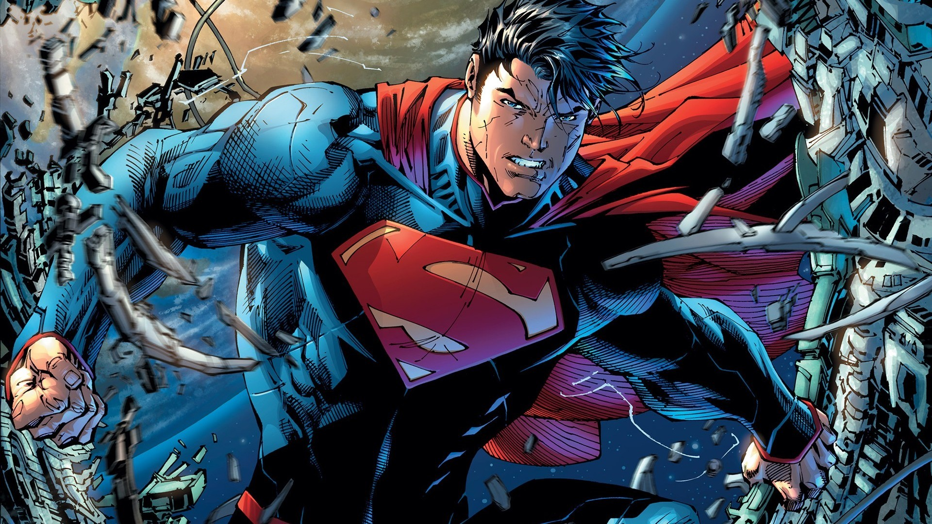 DC Comics Superman Man Of Steel The New 52 Superman Unchained wallpaper  background
