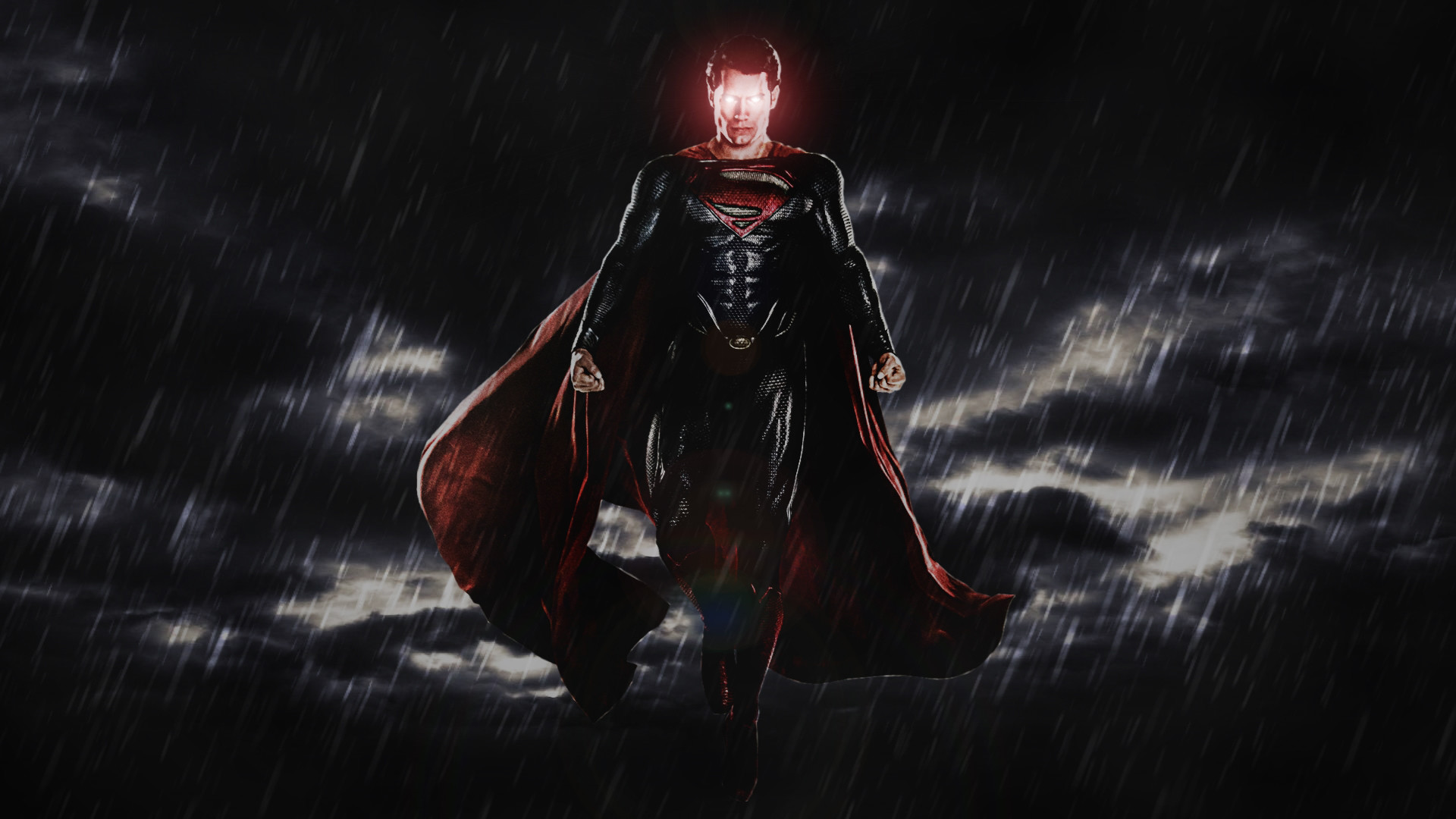 Batman V Superman Comic-Con Superman Poster by ProfessorAdagio