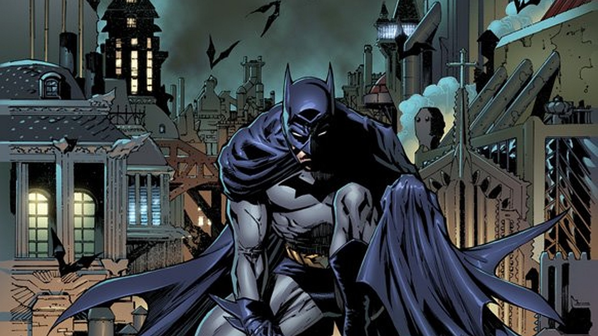 Wallpaper Batman Logo Black
