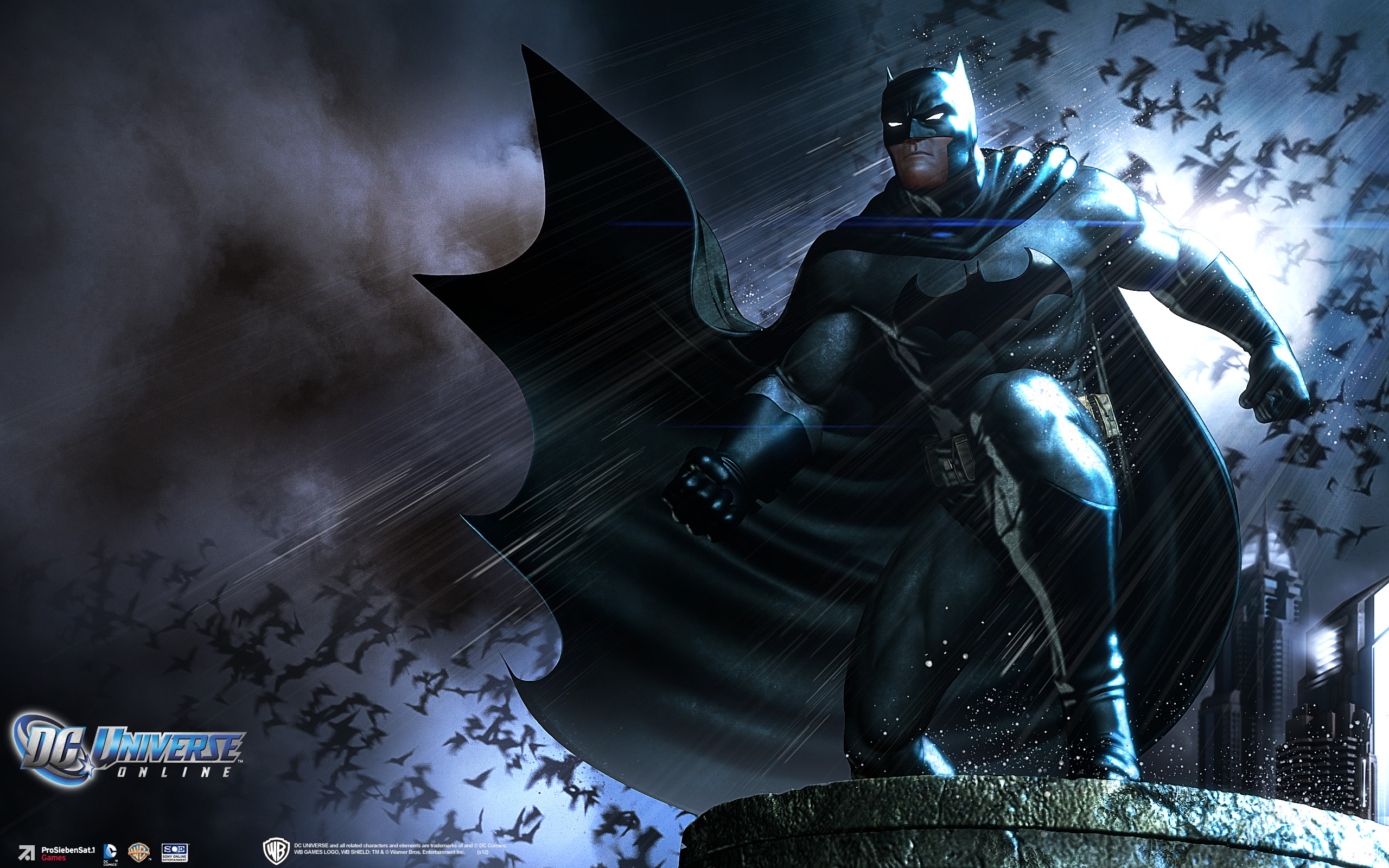 DC UNIVERSE ONLINE d-c superhero comics batman d wallpaper background