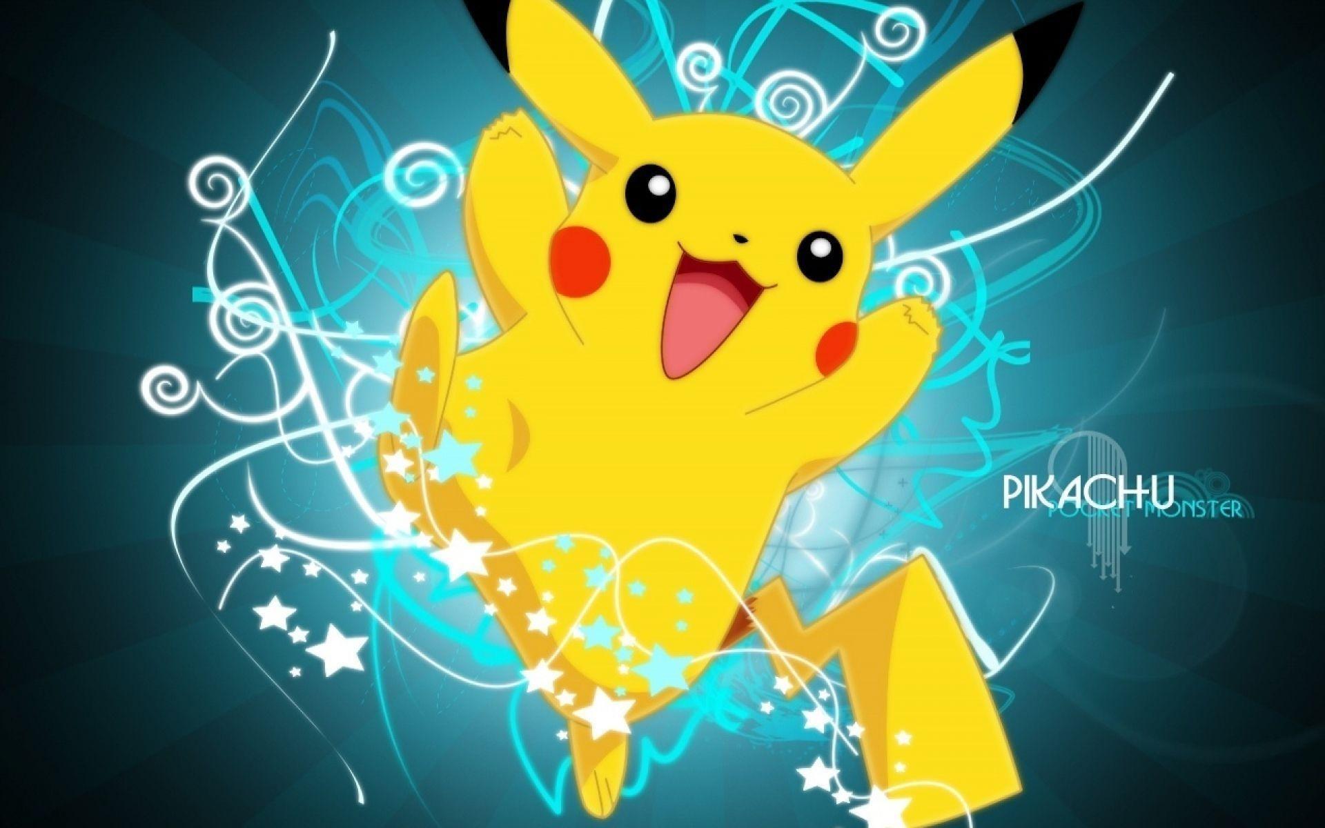 yellow cute pokemon image