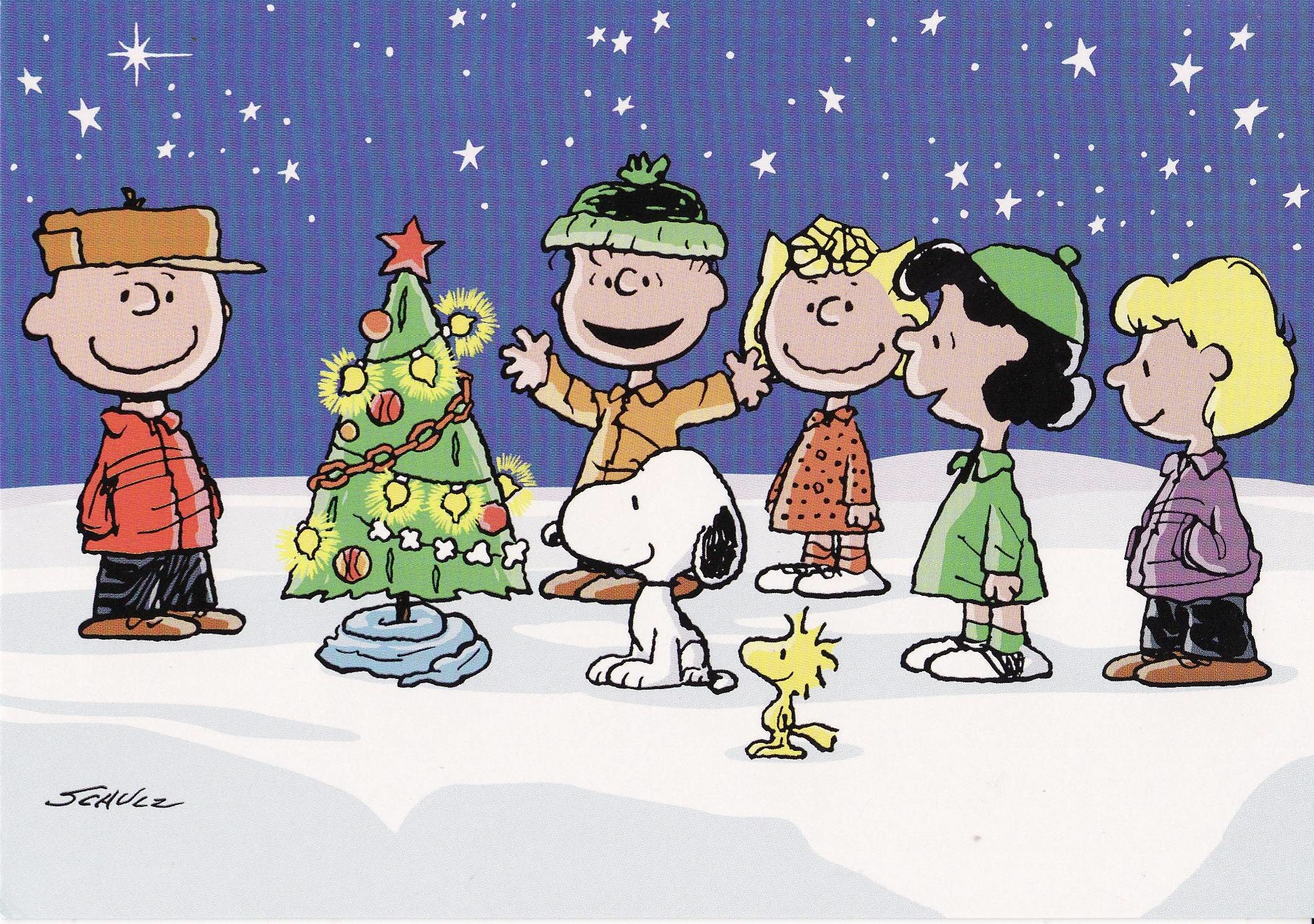 Charlie Brown Peanuts Comics Christmas Wallpaper Pictures Free .