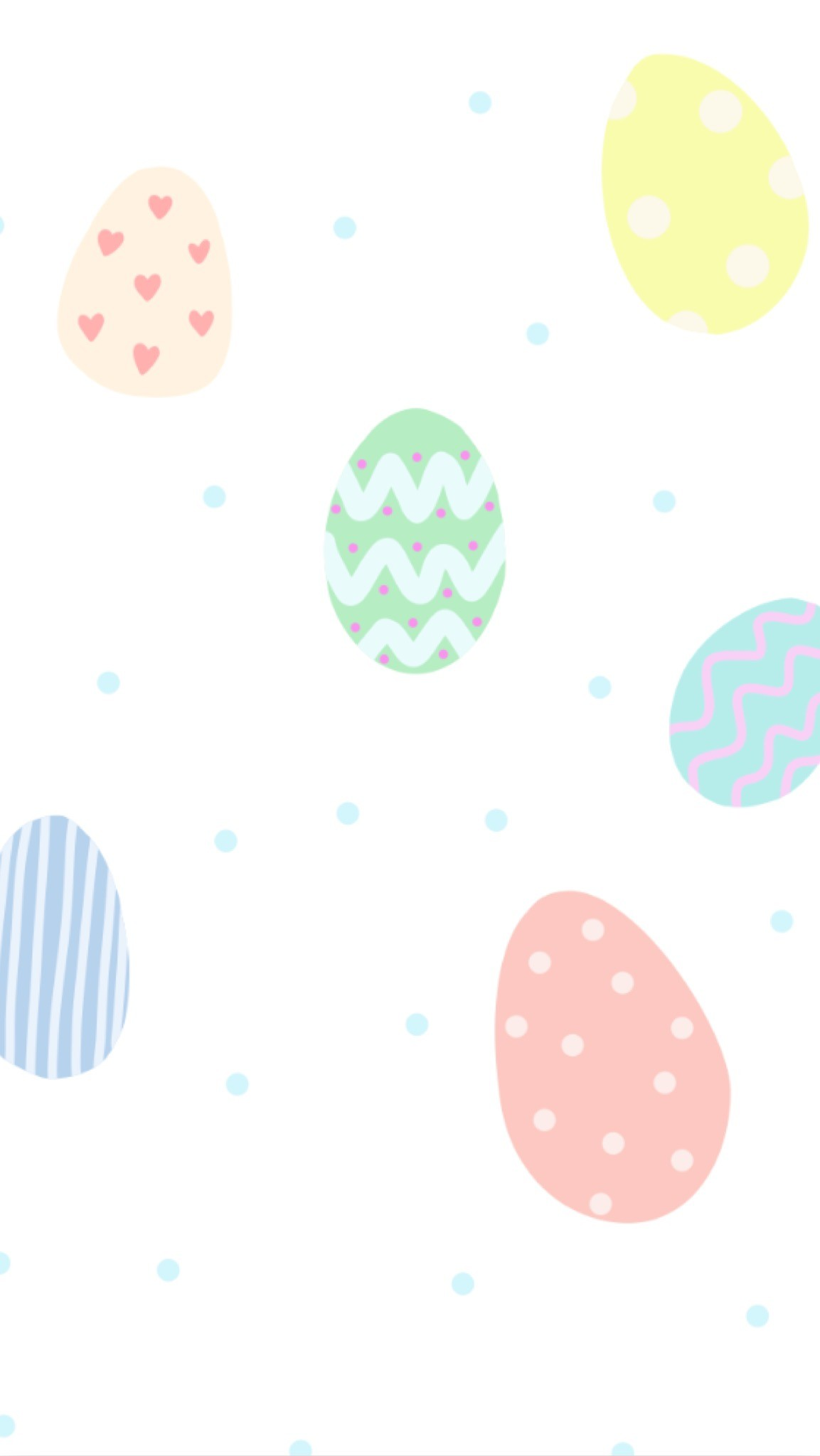 {Free Phone Wallpaper} April Easter Eggs