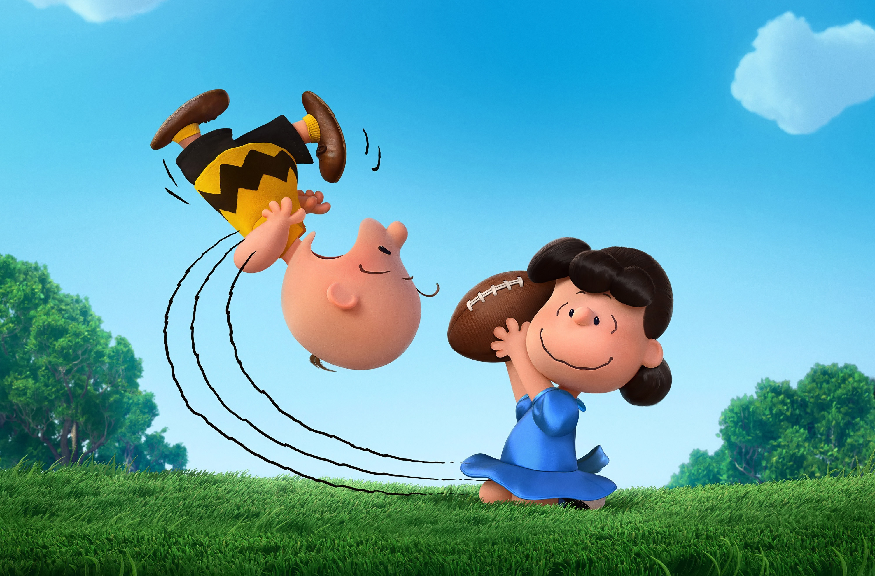 The Peanuts Movie, Lucy, Charlie Brown, Animation