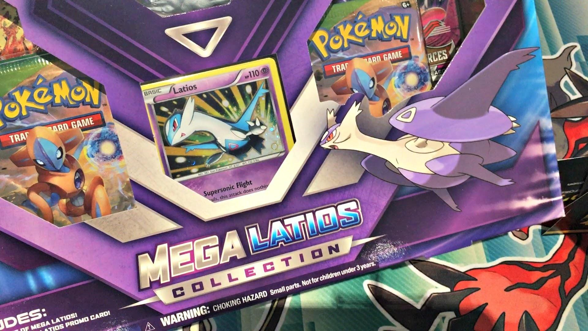 Opening a Pokemon Mega Latios EX Collection Box!