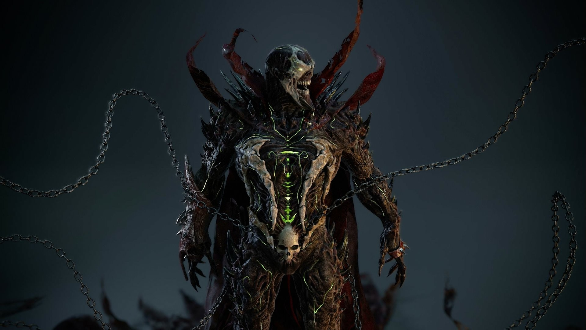 Nightmarish SPAWN 3D Art Design by Atilla Ceylan