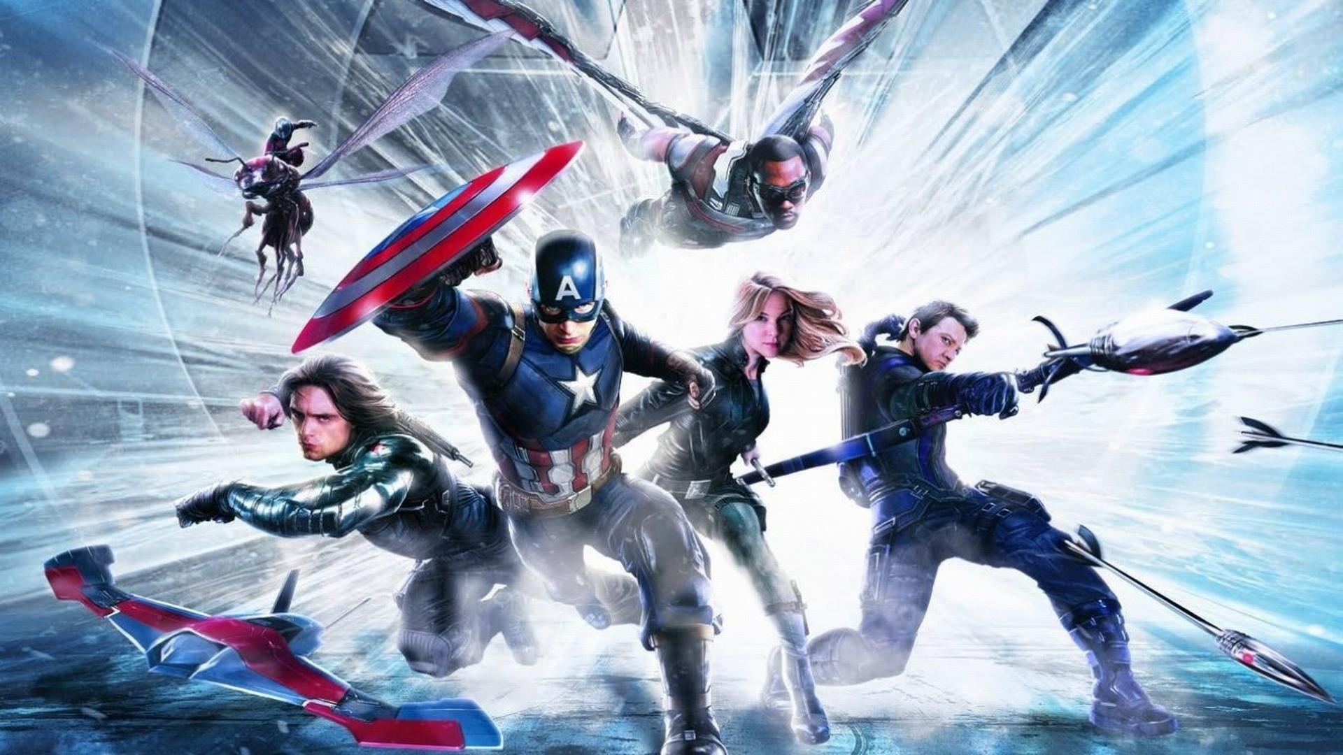 Captain America: Civil War HD Wallpapers Backgrounds 1920×1080 Marvel Civil  War Wallpapers (