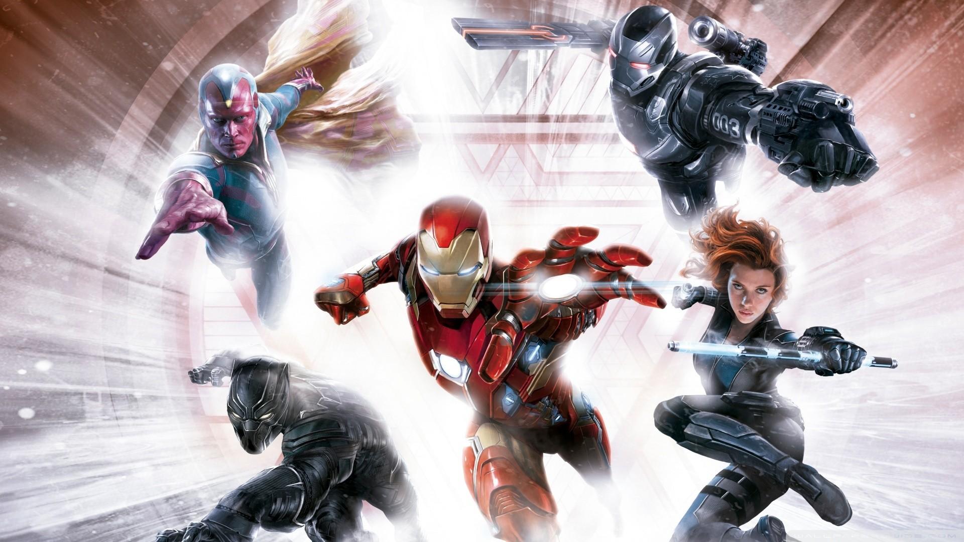 Captain America Civil War HD Wide Wallpaper for Widescreen