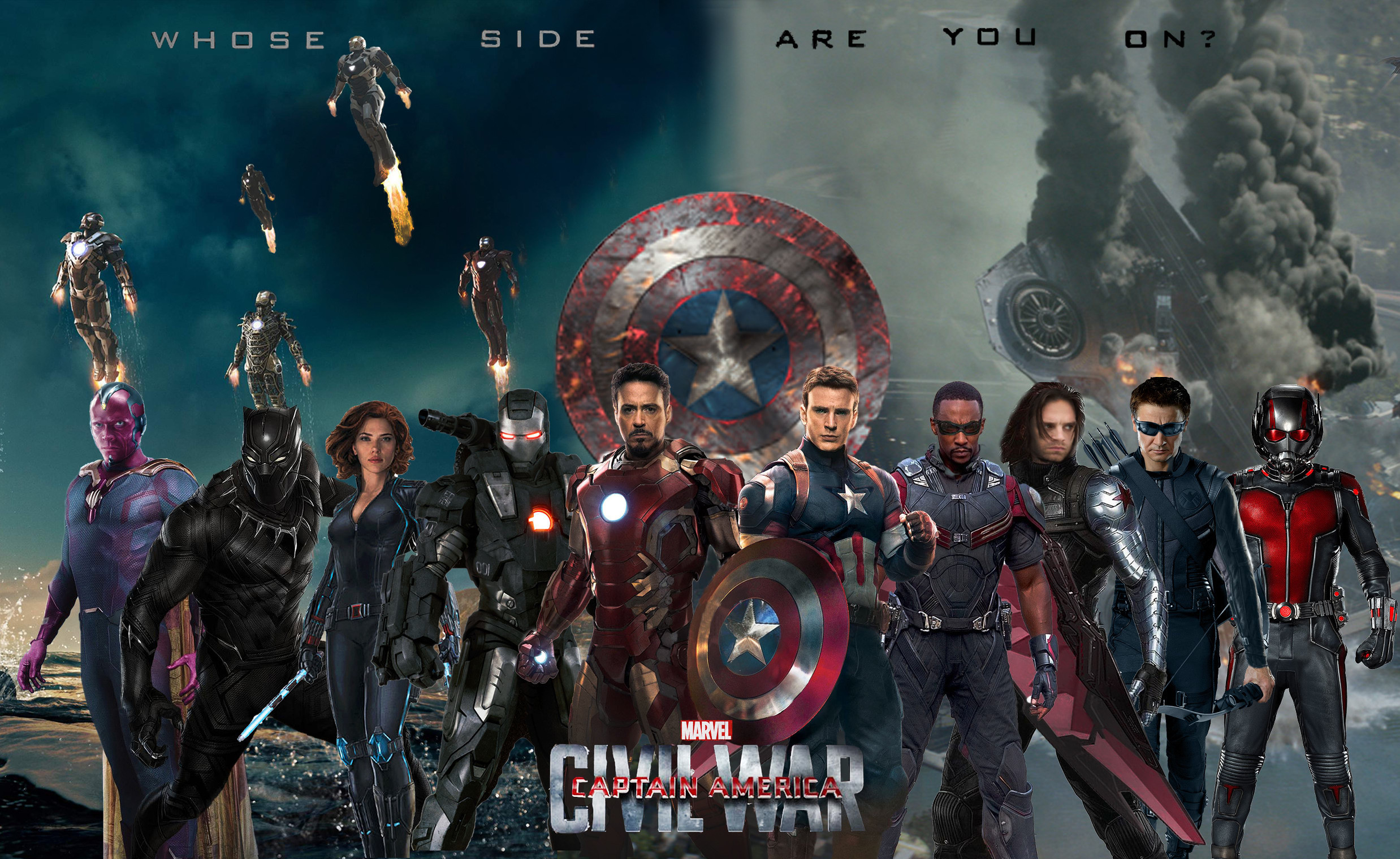 Can we get a Captain America team, Iron Man team, and both team bundles. I  would like to buy team Cap costumes.