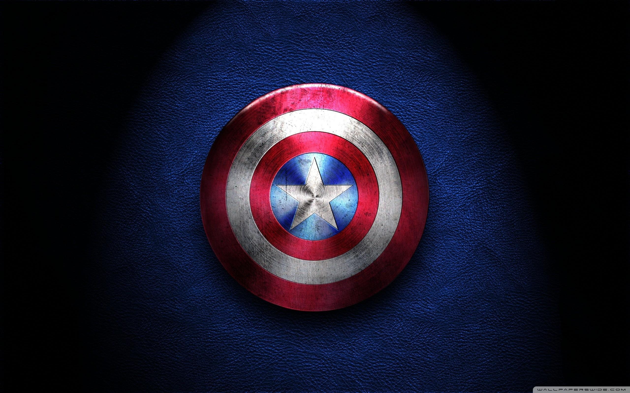 Captain America Shield HD Wide Wallpaper for Widescreen
