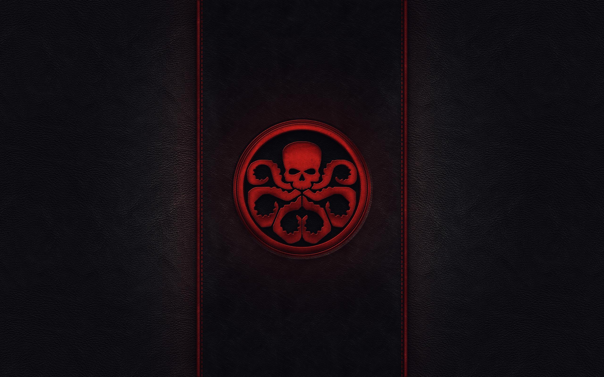 Hydra emblem captain america red skull wallpaper