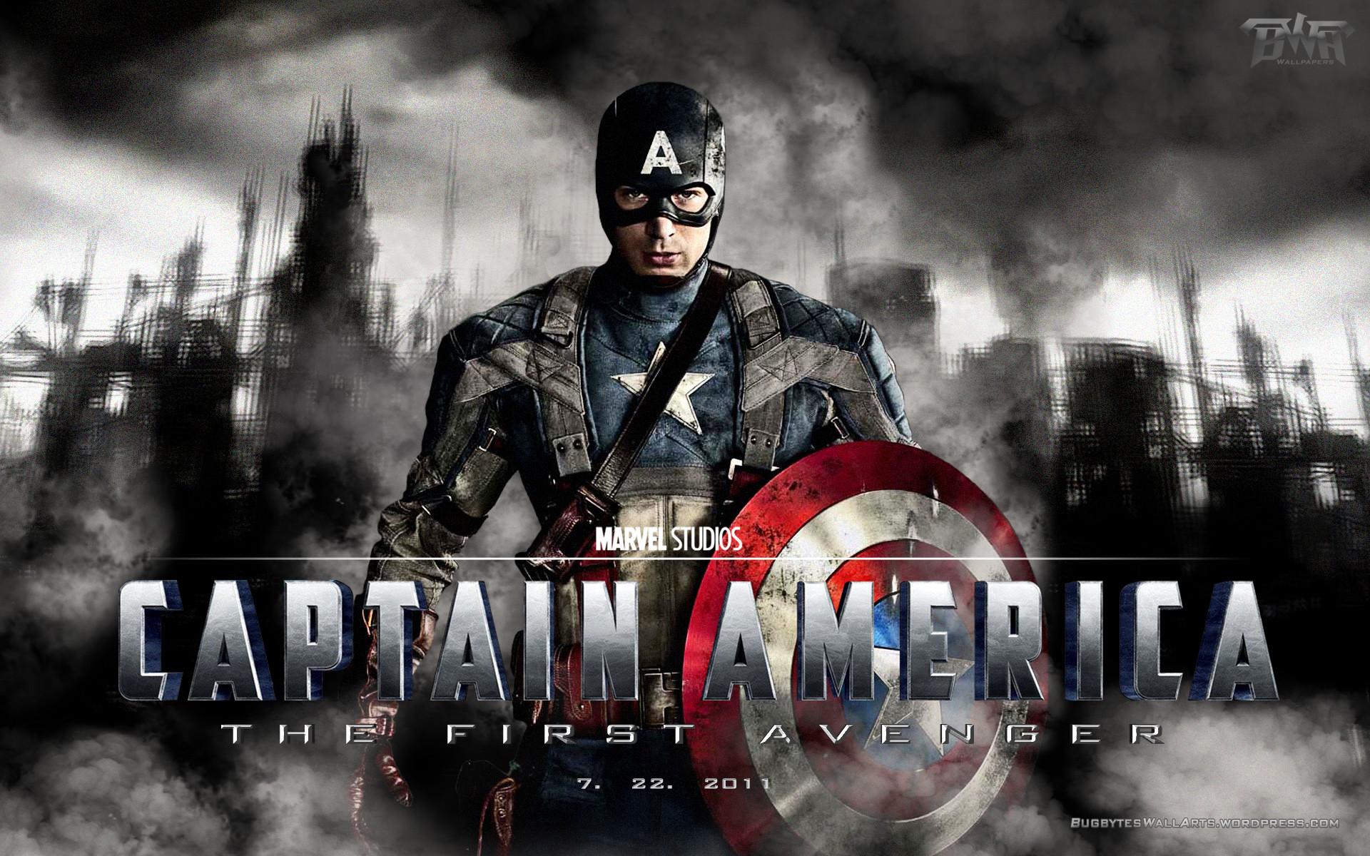 Captain America The First Avenger Wallpaper