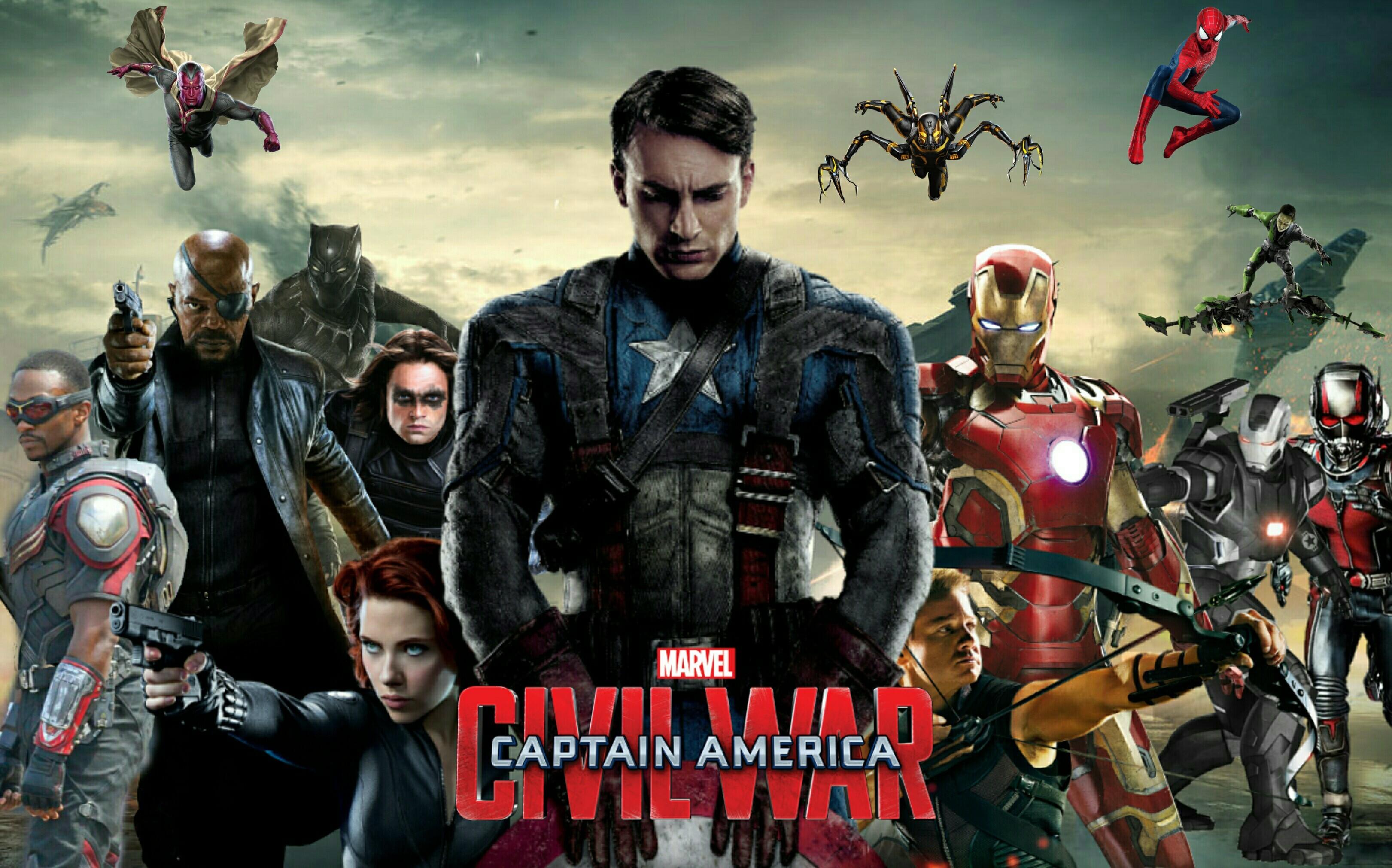 … captain america civil war official wallpaper wallpapersafari …