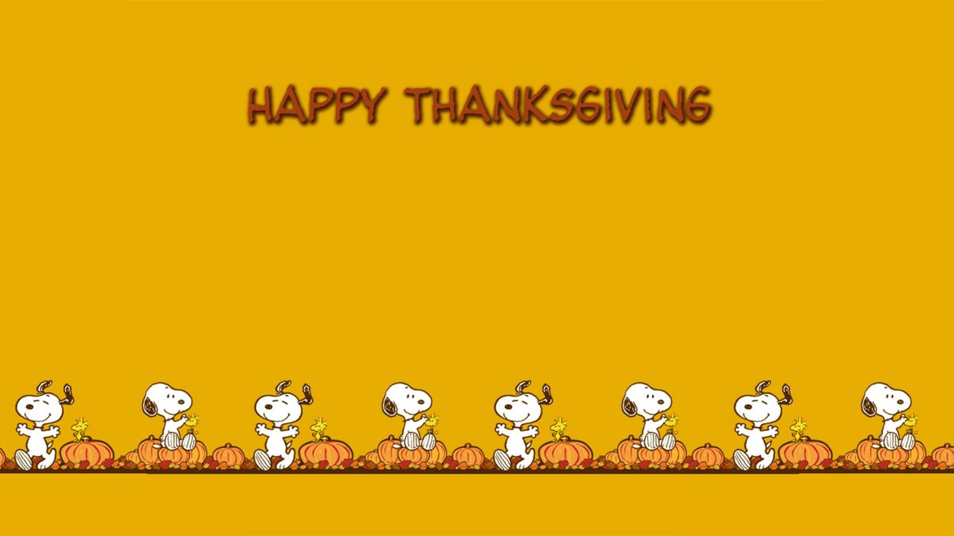 Snoopy Thanksgiving Wallpaper Backgrounds Widescreen