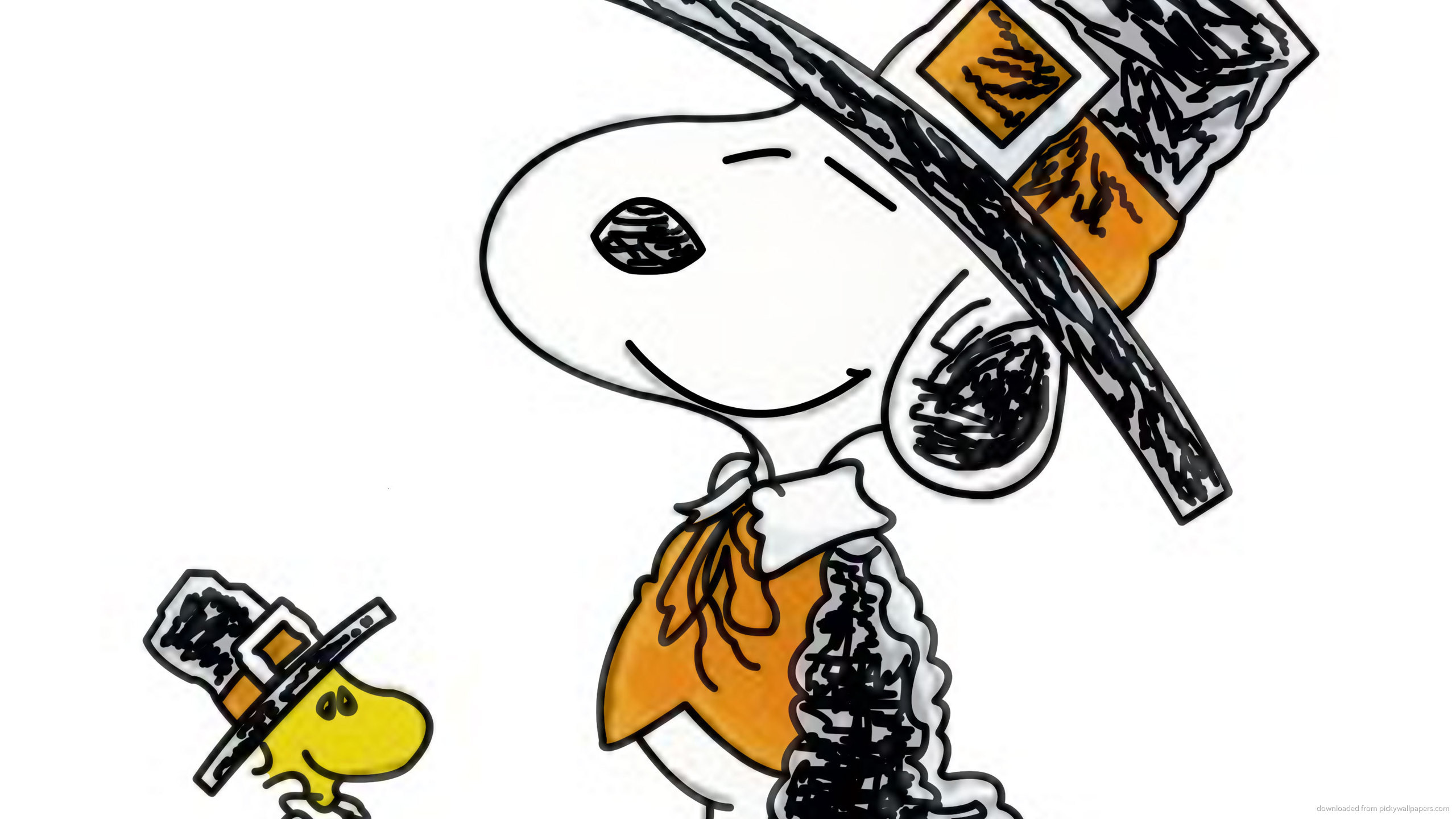 Snoopy Woodstock for 2560×1440