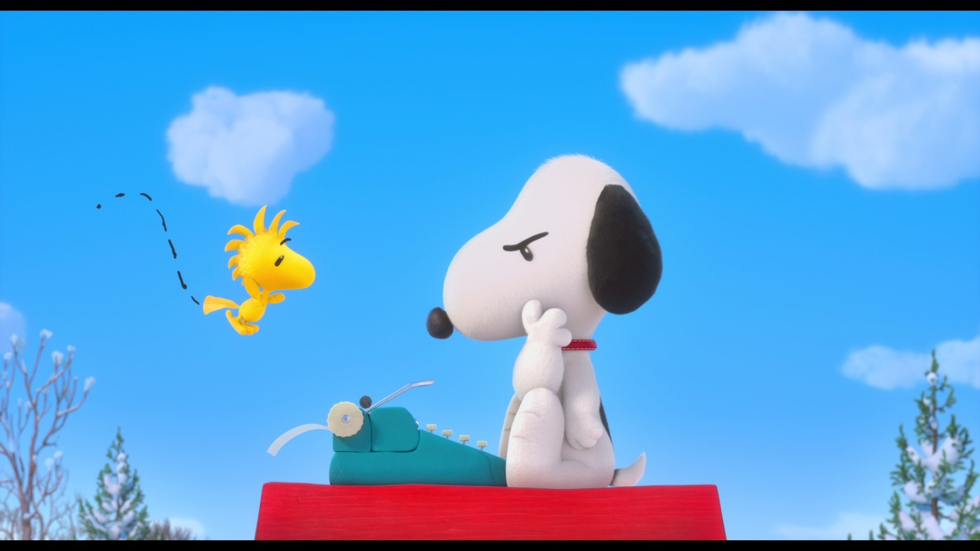 … Peanuts Movie – Snoopy And Woodstock by BradSnoopy97