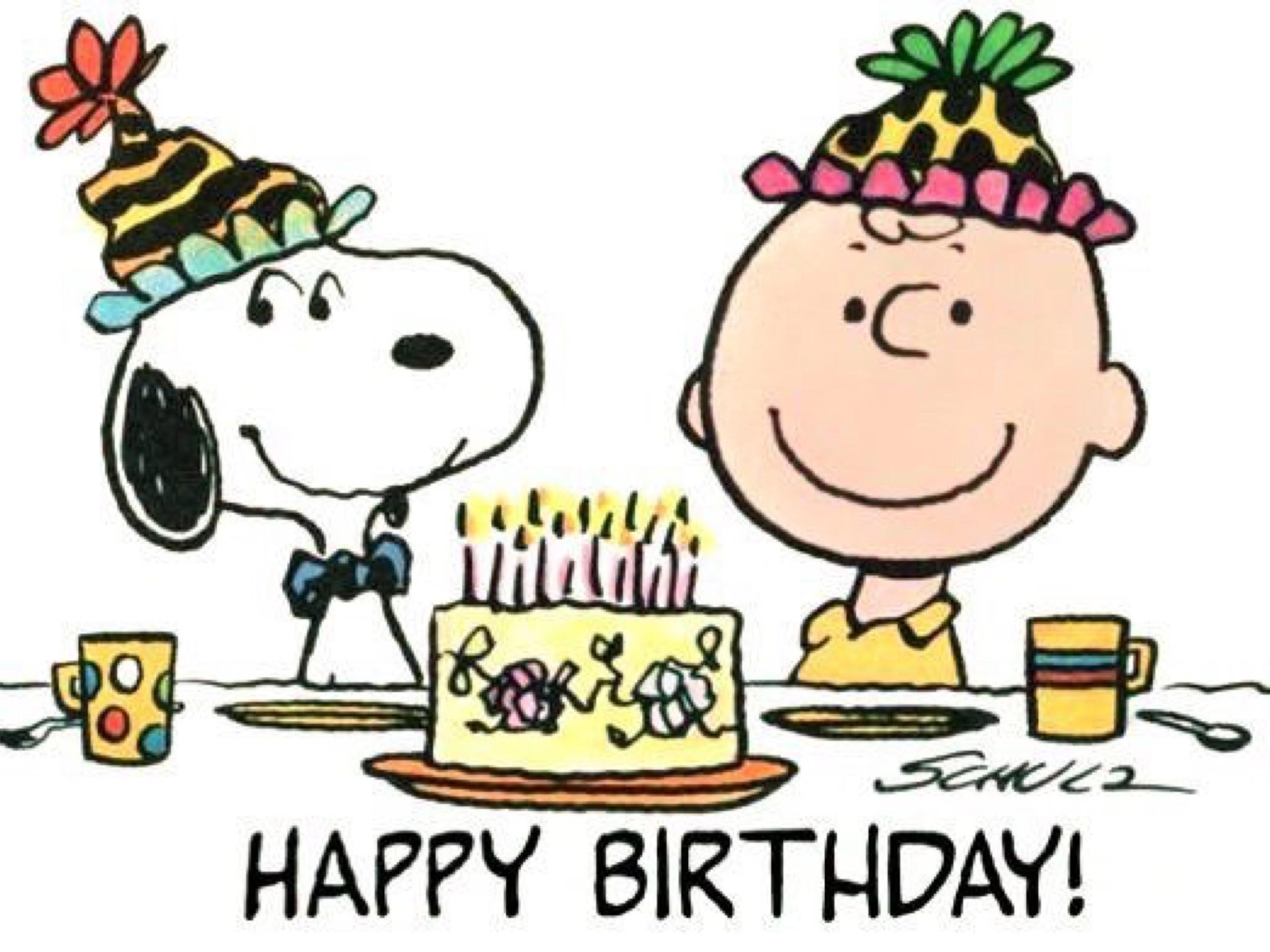 Happy Birthday Charlie Brown