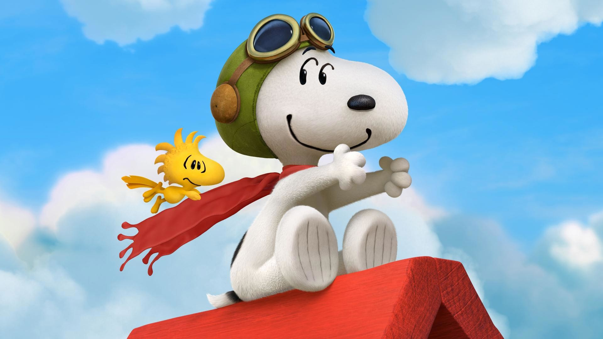 Great artwork released for the Peanuts movie, starring Charlie Brown and  Snoopy with their friends. Featuring characters like Woodstock, Sally, …